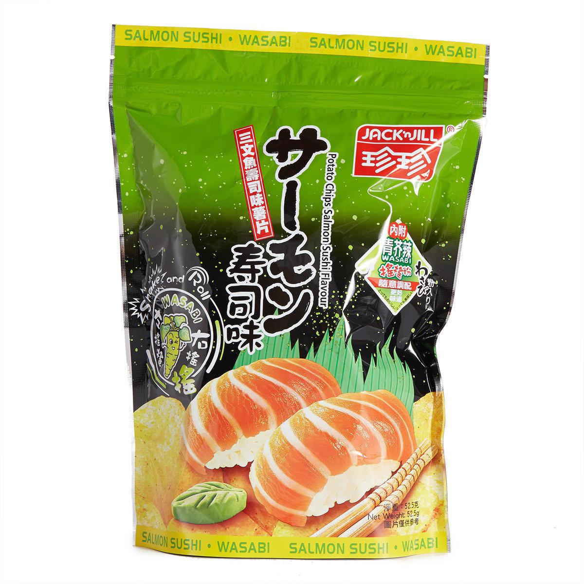 薯片-三文魚壽司味