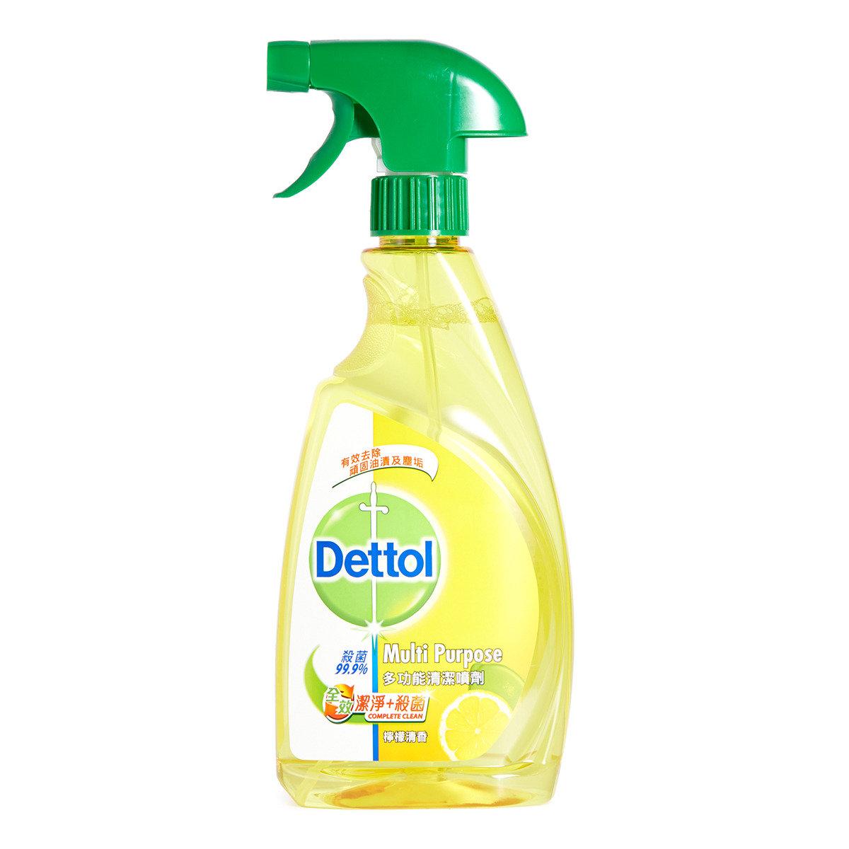 全效潔淨殺菌多功能清潔噴劑 (檸檬香味)