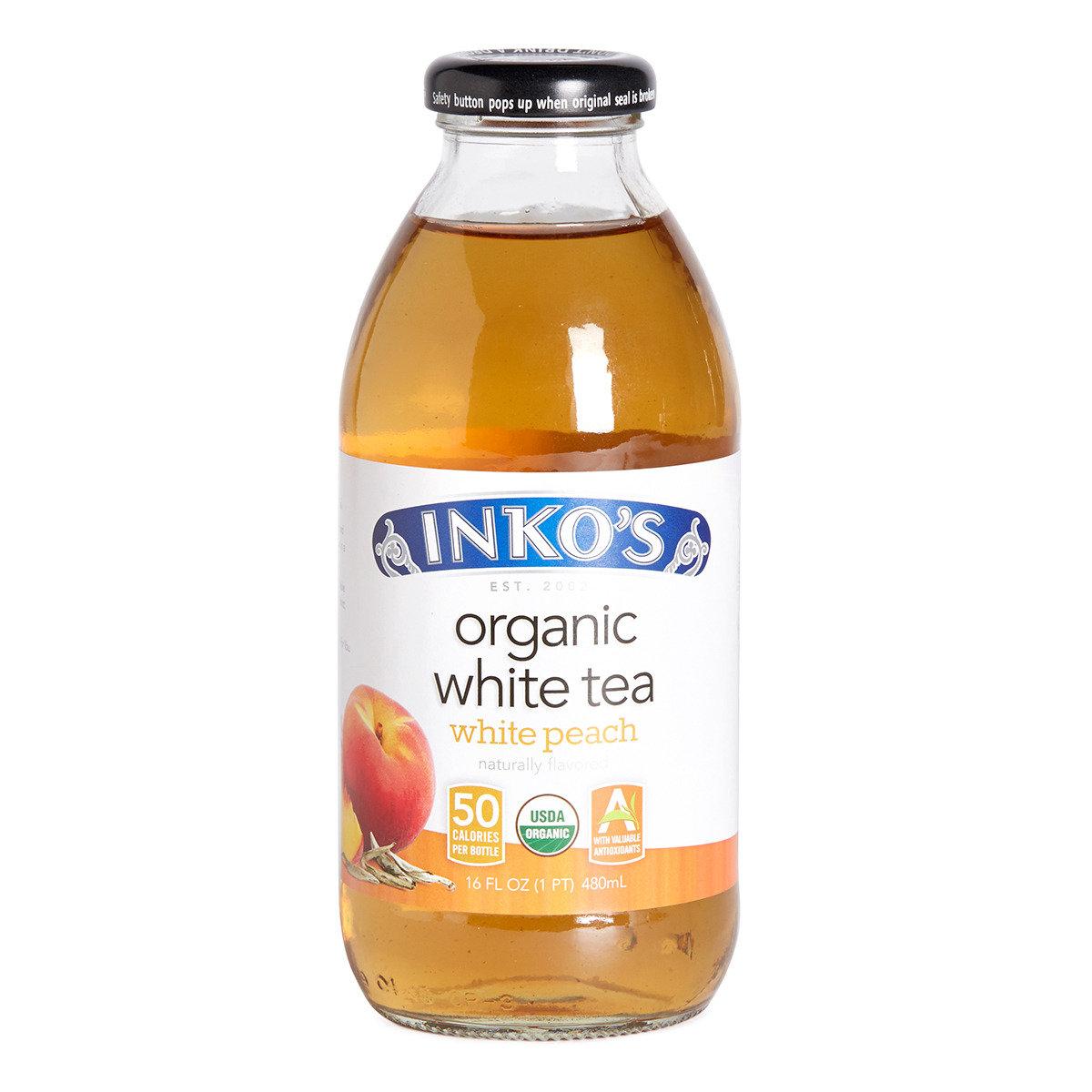 有機白桃白茶