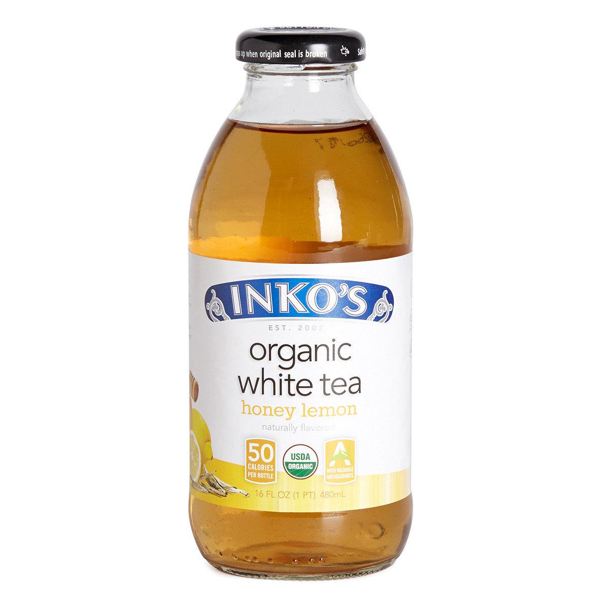 有機蜂蜜檸檬白茶