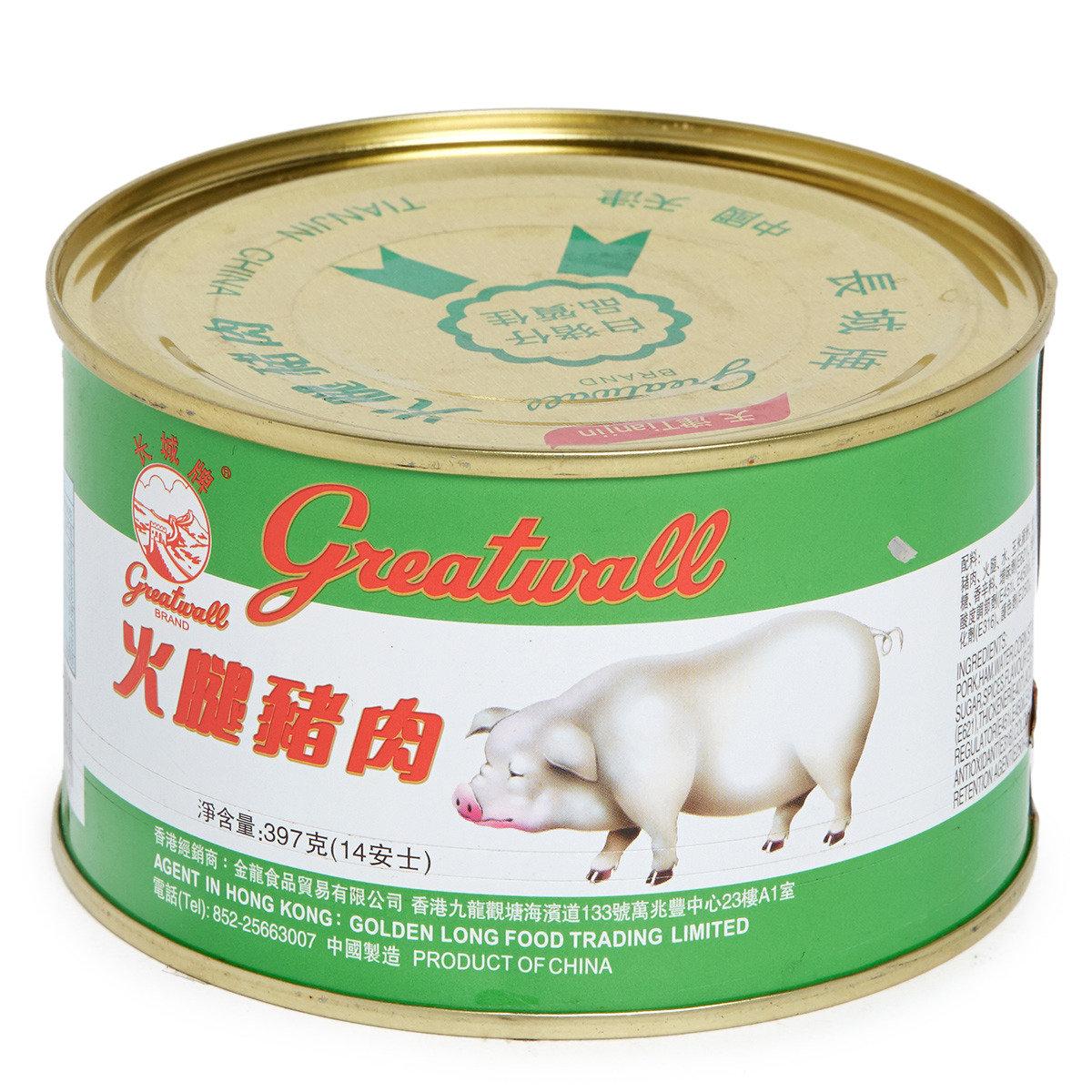 火腿豬肉 (大圓罐)