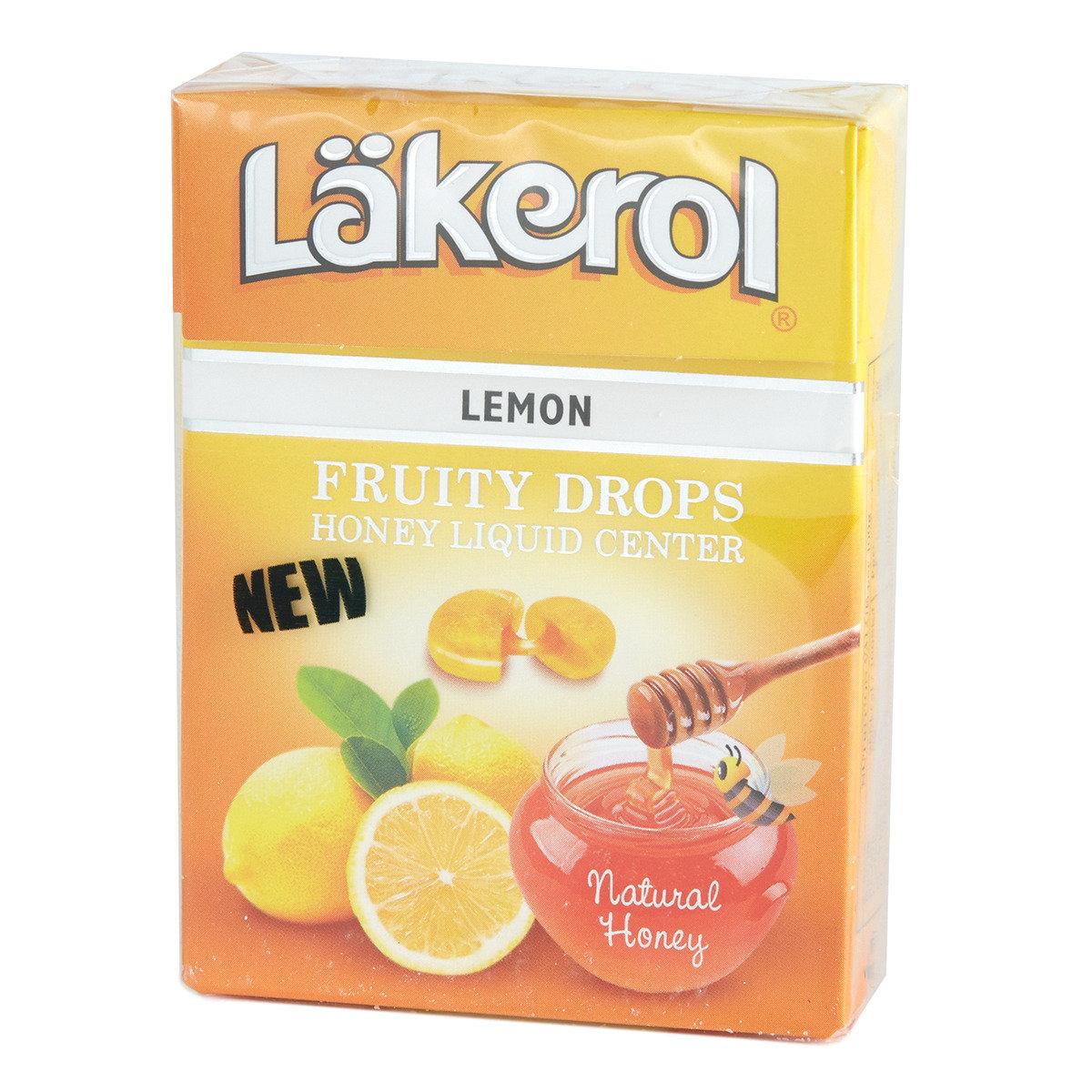 蜜糖流心潤喉糖檸檬味