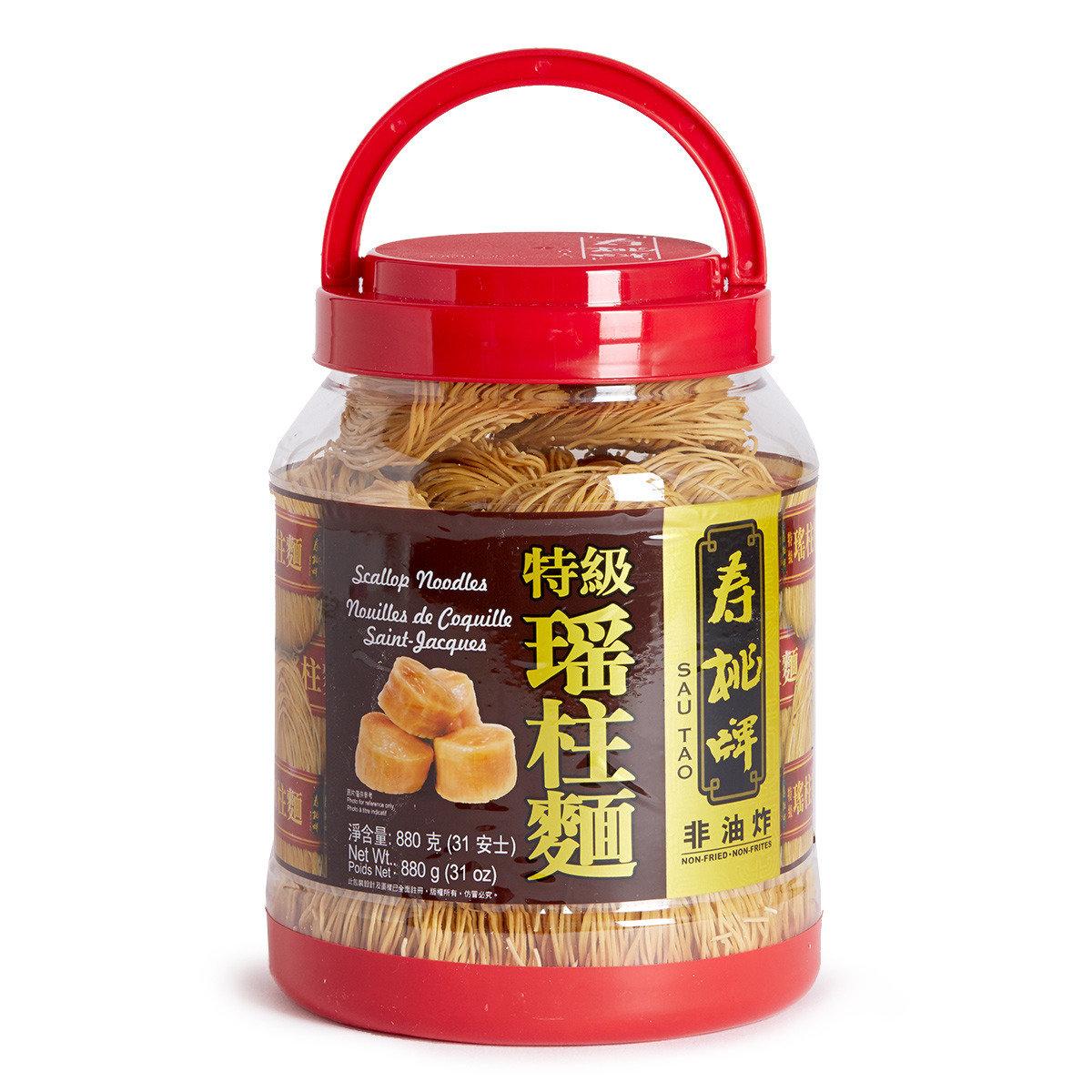 懷舊桶裝特級瑤柱麵