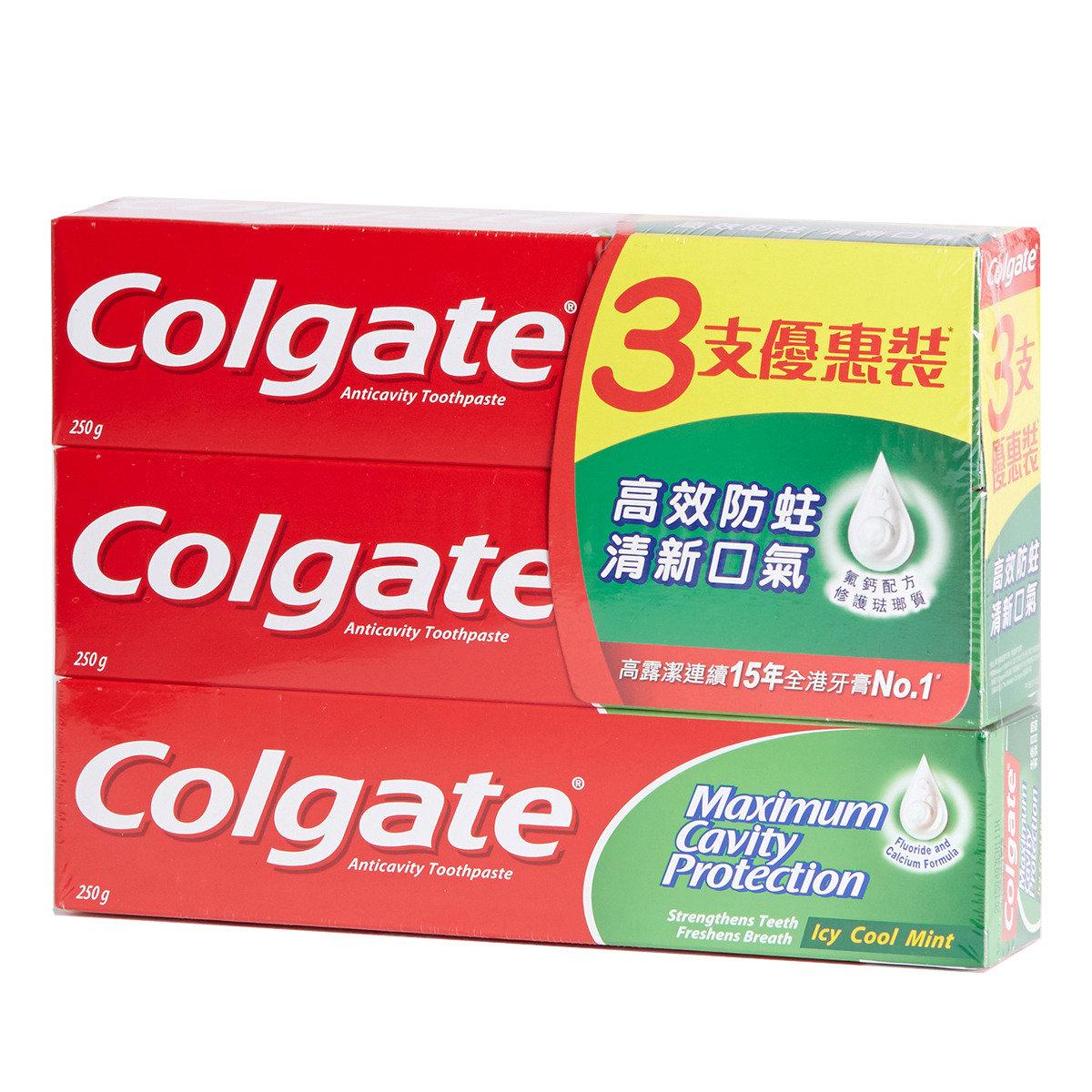 清涼薄荷牙膏優惠裝
