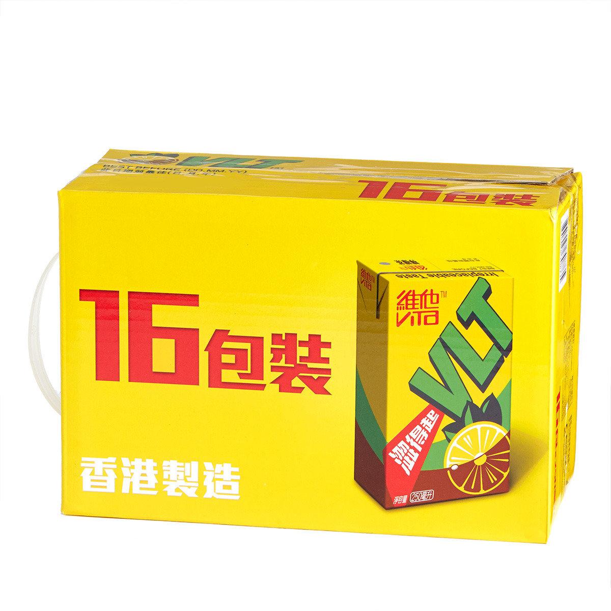 16包裝檸檬茶