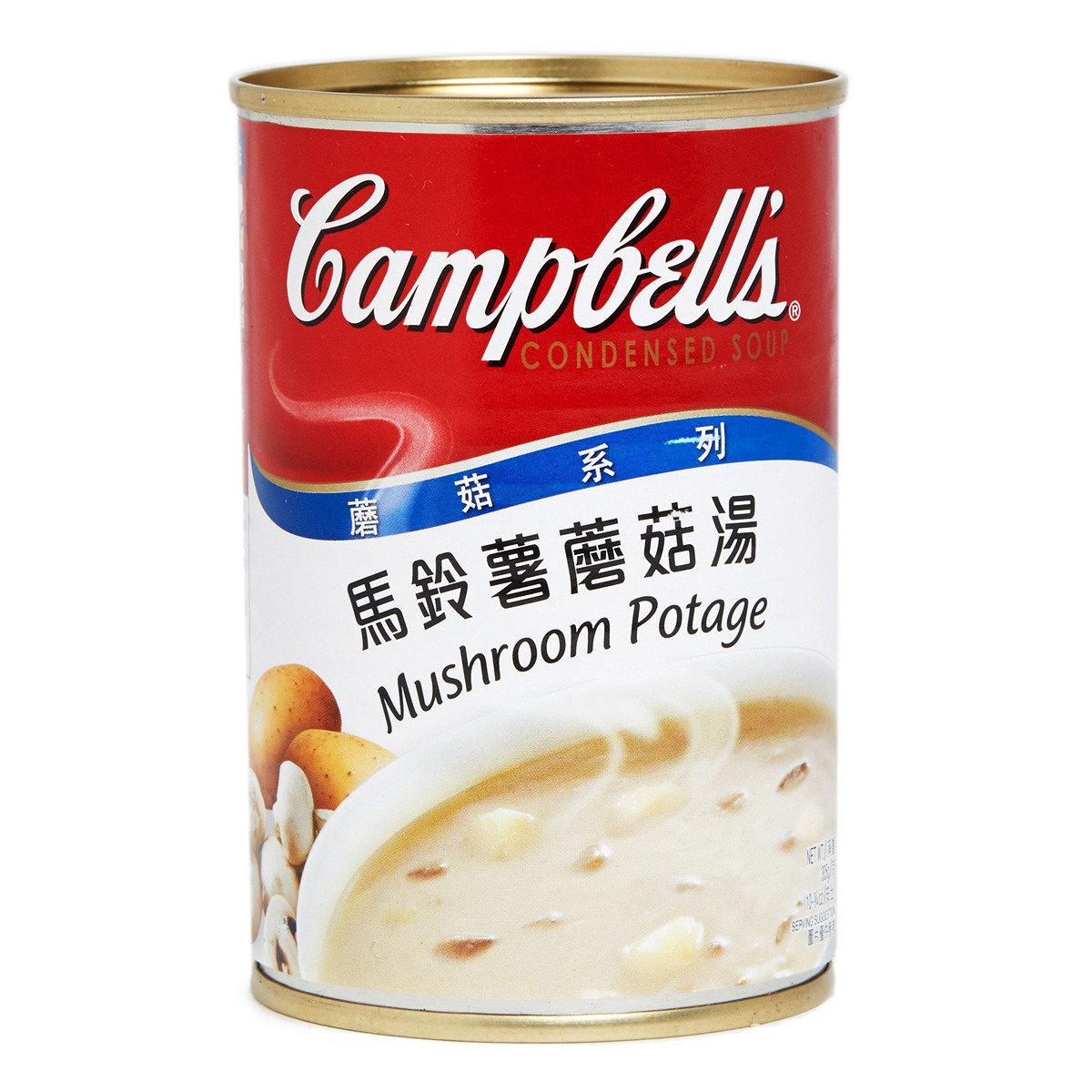 馬鈴薯蘑菇湯