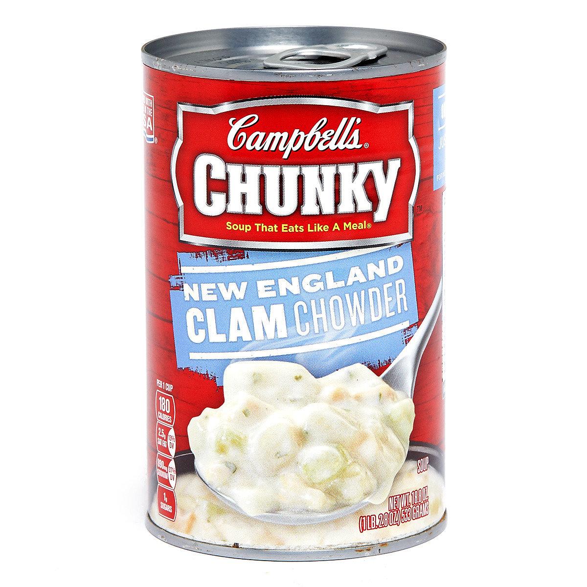 足料即食湯 - 新英倫周打蜆湯
