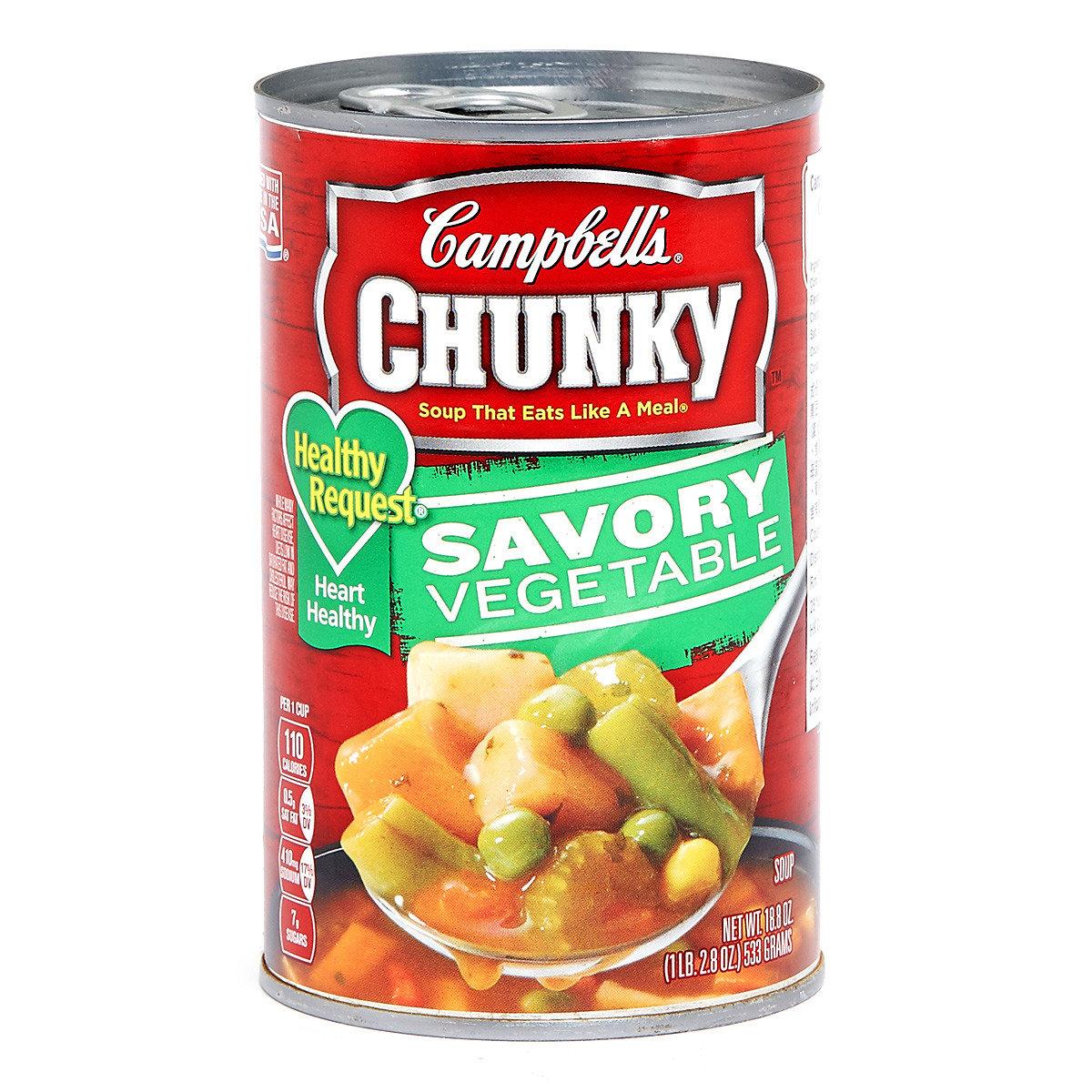足料即食湯 - 田園雜菜湯