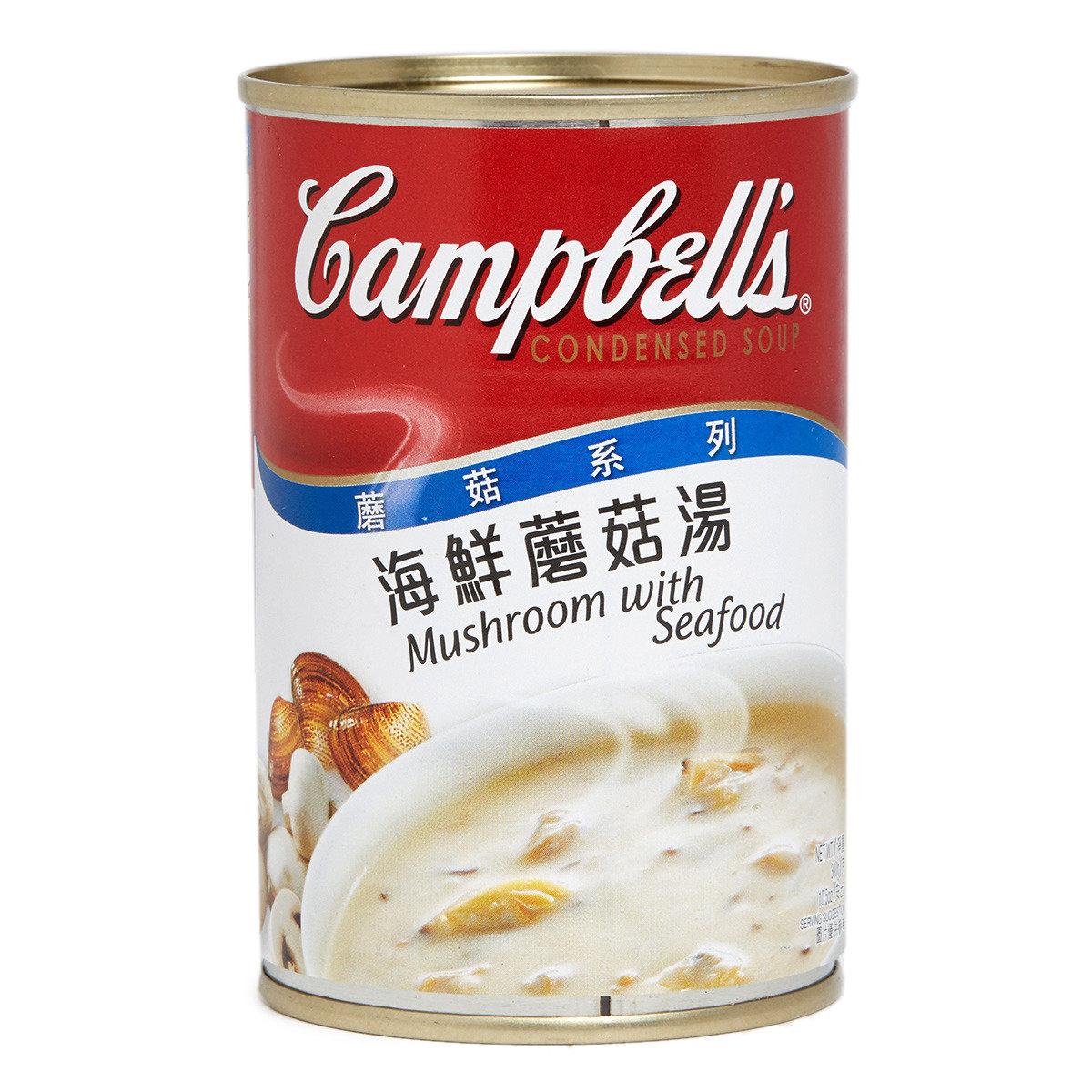 海鮮蘑菇湯