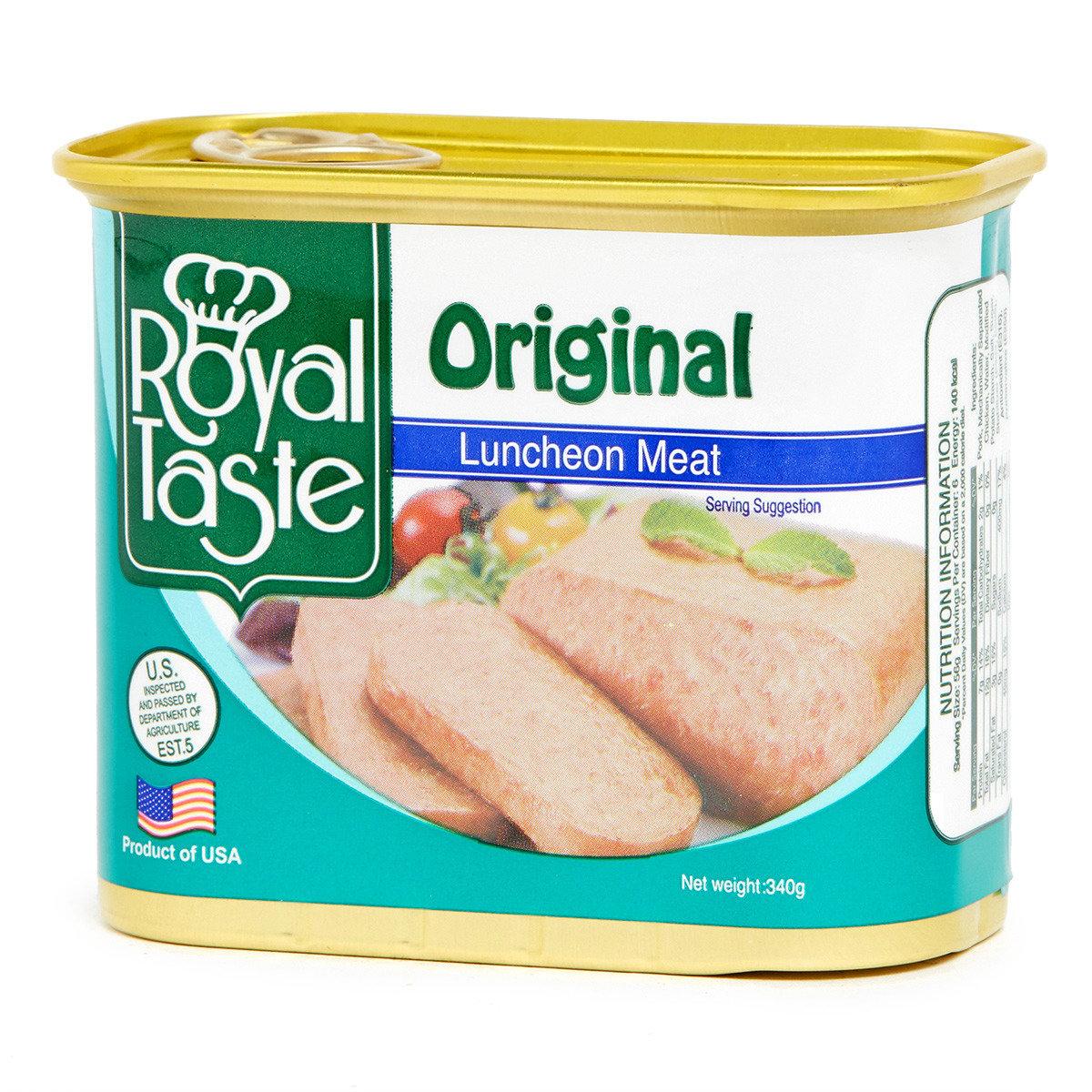 原味午餐肉