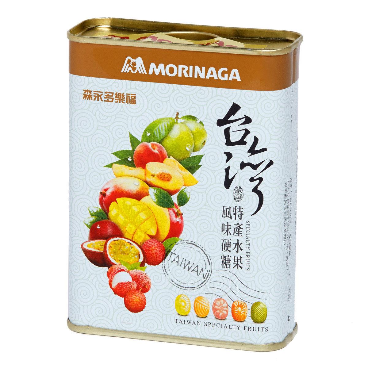 台灣特產5味水果糖方罐