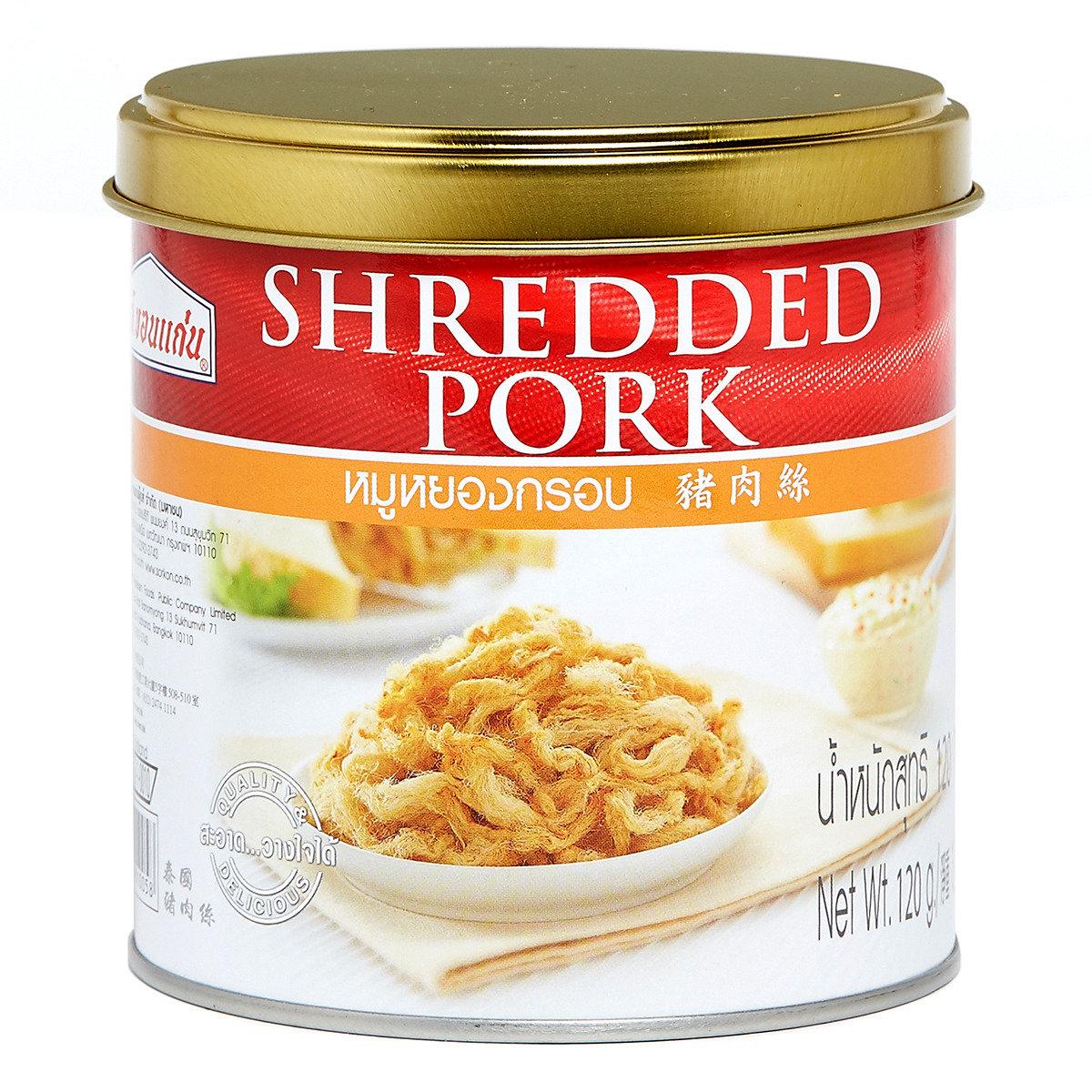 豬肉絲 (罐裝)