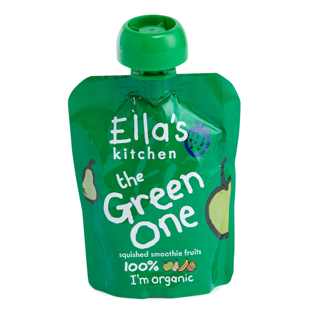 Ella\'s Kitchen | The Green One Squished Smoothies (Apple,Pears,Kiwi ...