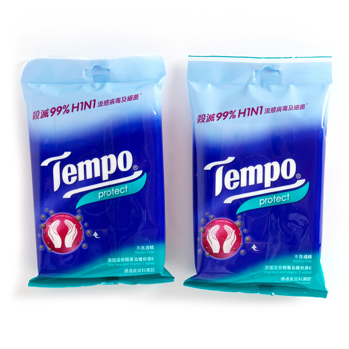 抗菌倍護濕紙巾