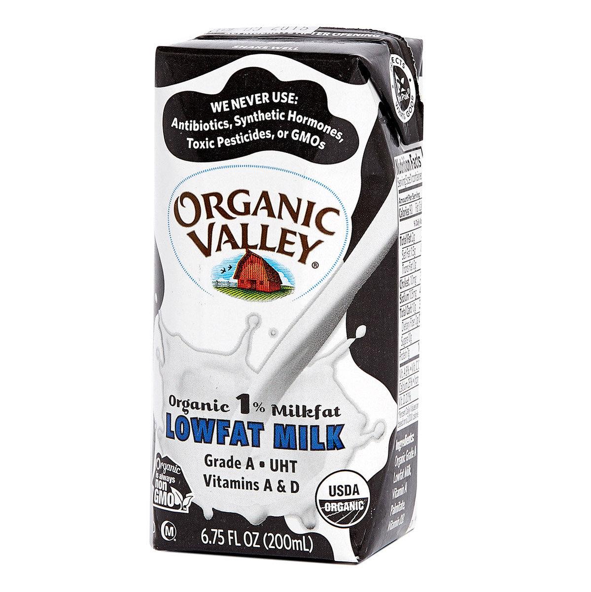 美國有機1%低脂奶