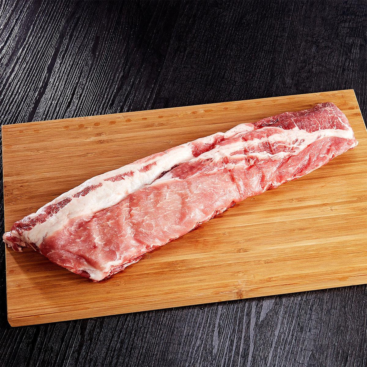 美國天然豬豬仔骨(急凍)