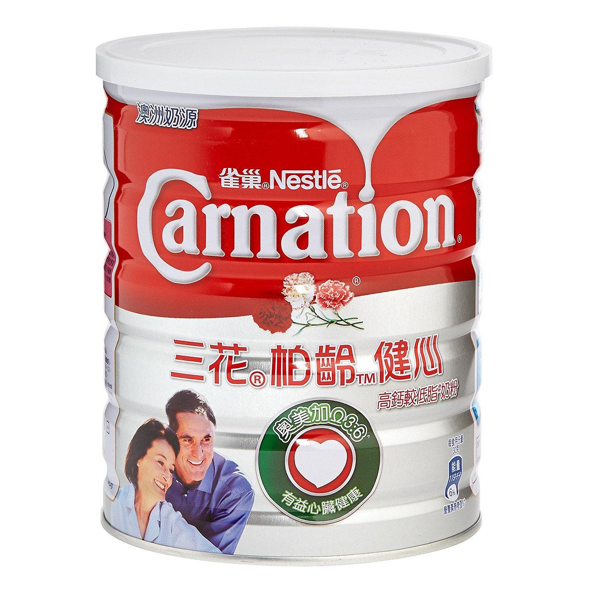 栢齡™健心高鈣較低脂奶粉