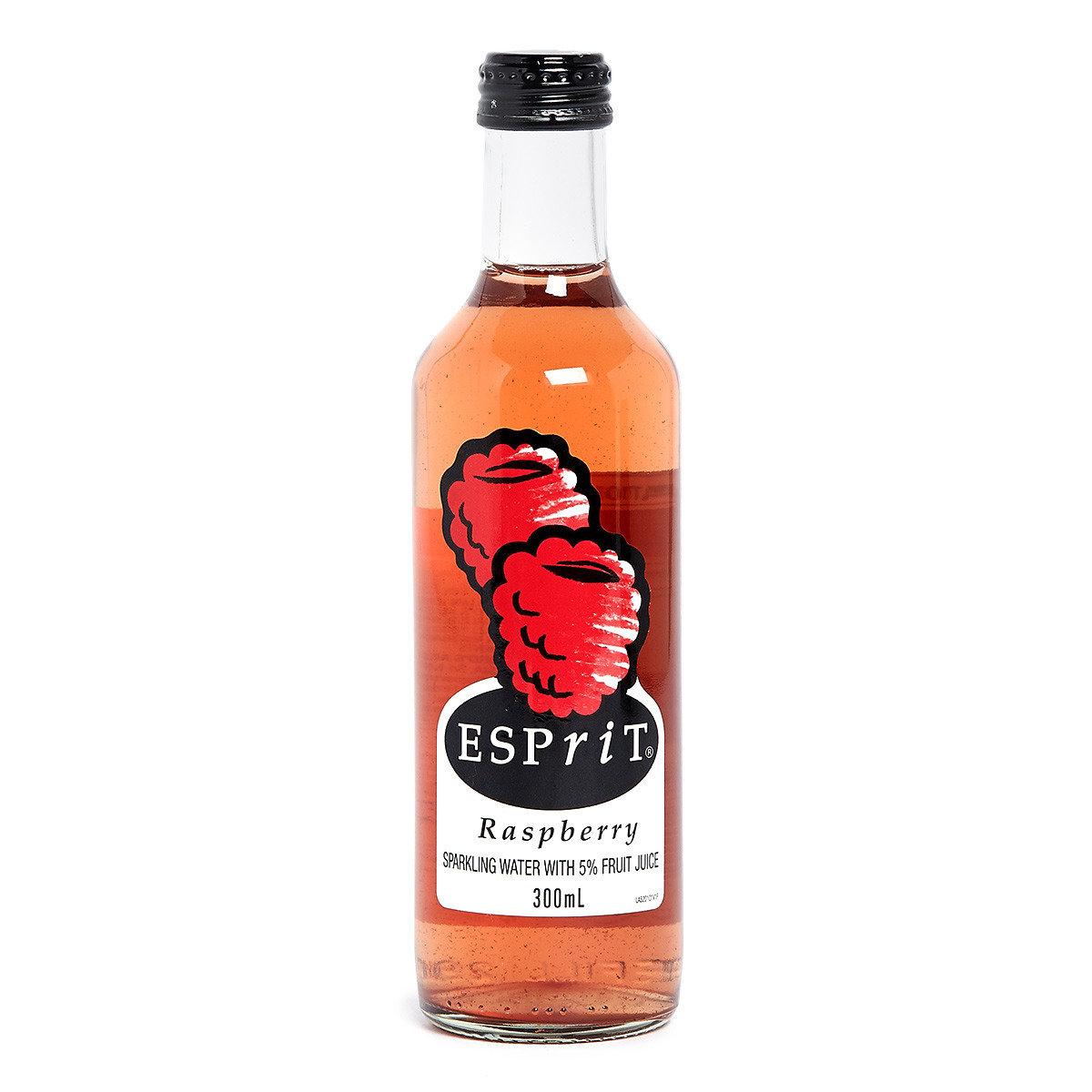 有氣果汁泉水–紅莓味