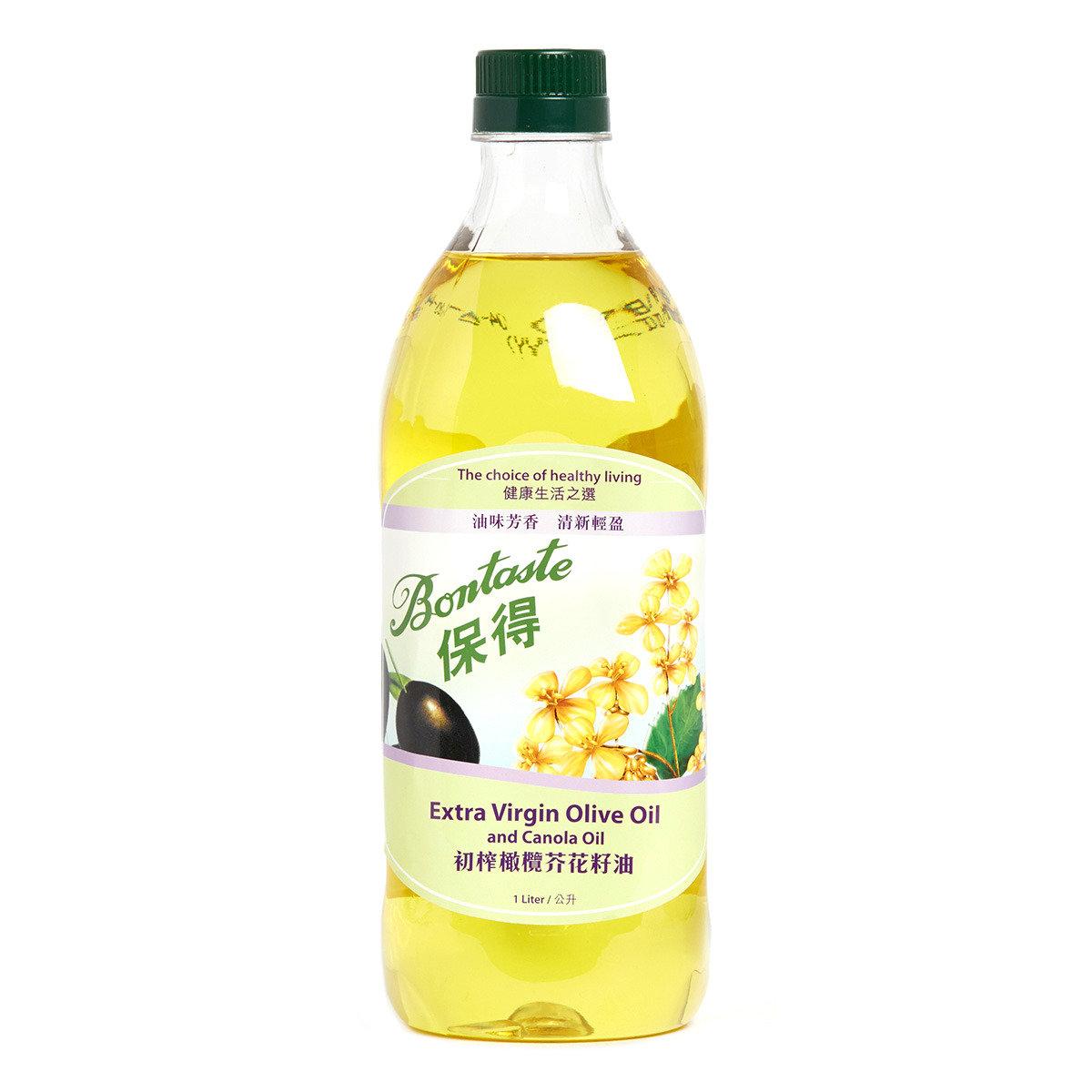初榨橄欖芥花籽油