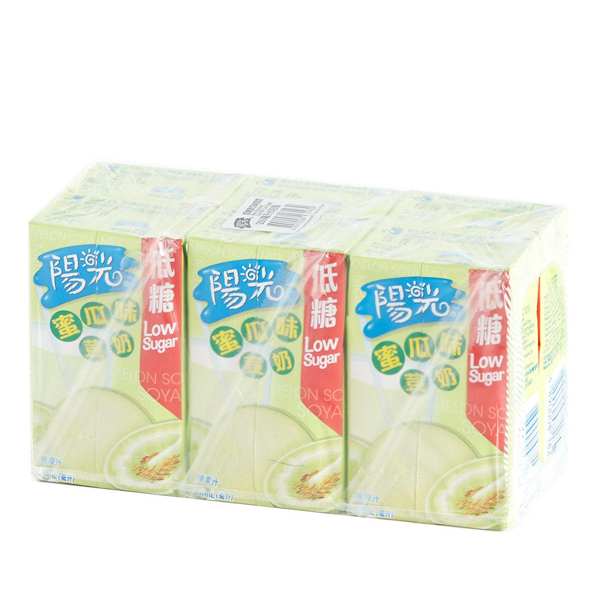 低糖蜜瓜味荳奶紙包裝
