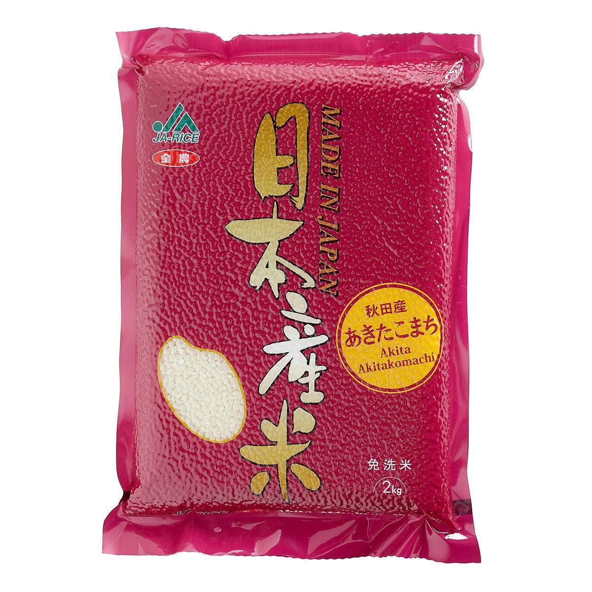 秋田產日本免洗米