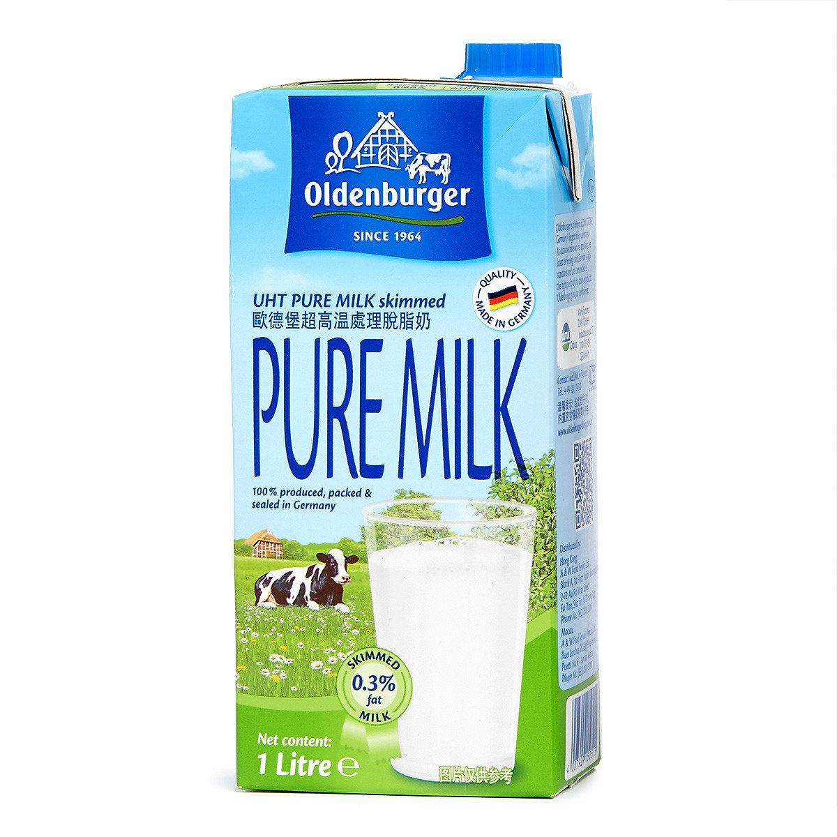 UHT 超高温滅菌脫脂牛奶