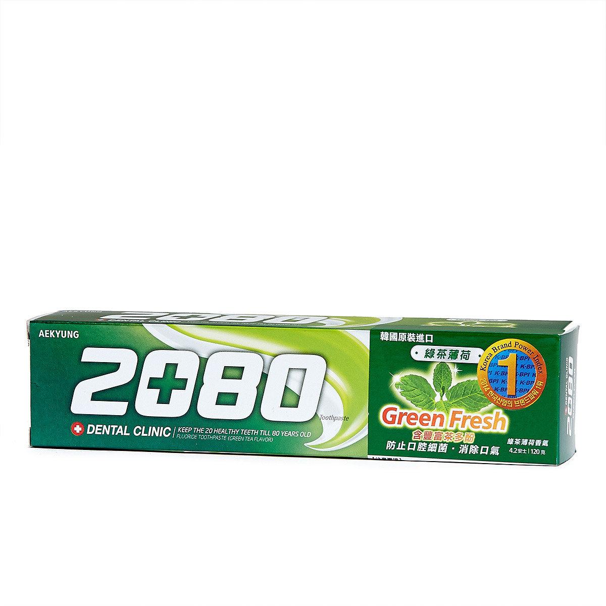 綠茶薄荷牙膏