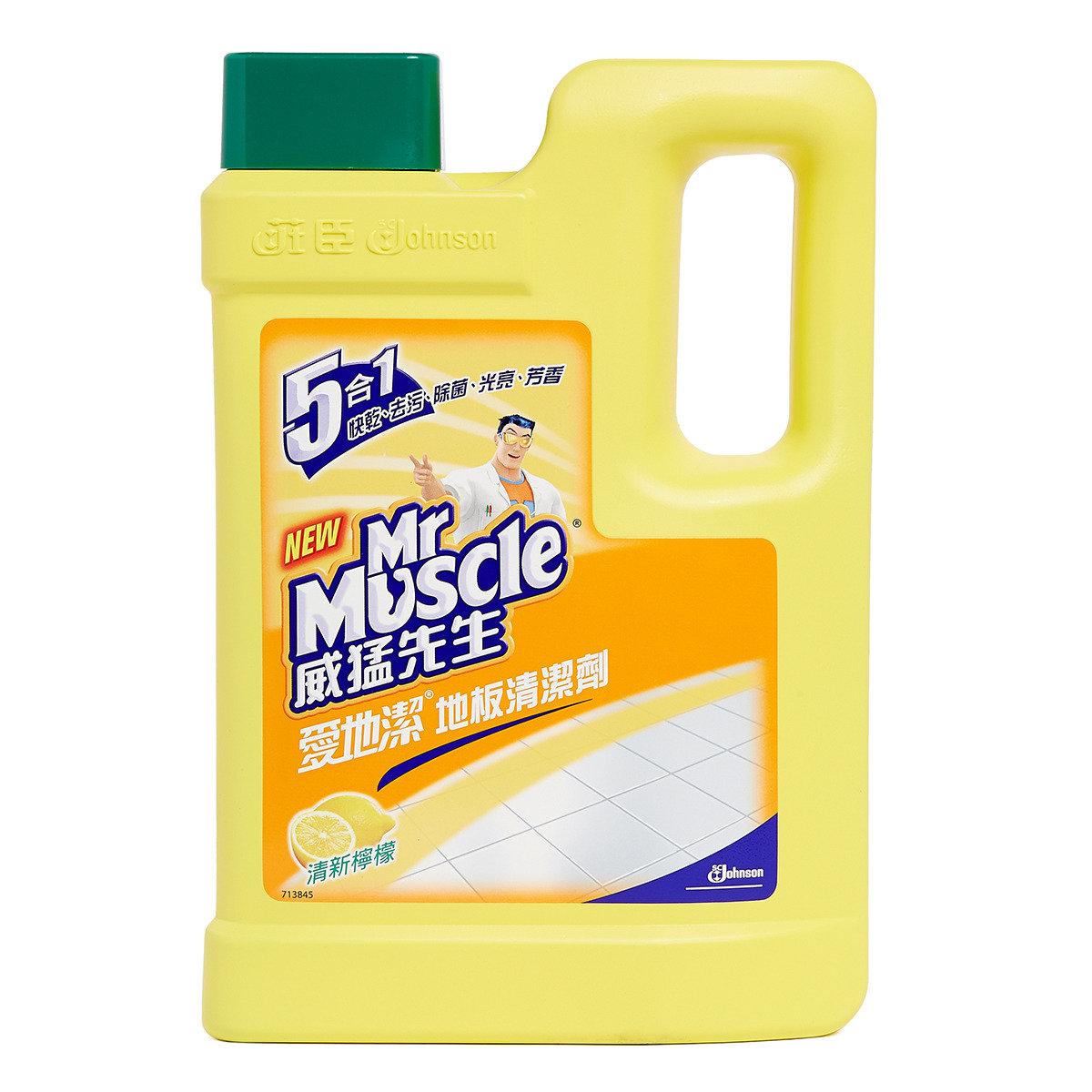 愛地潔地板清潔劑 - 清新檸檬