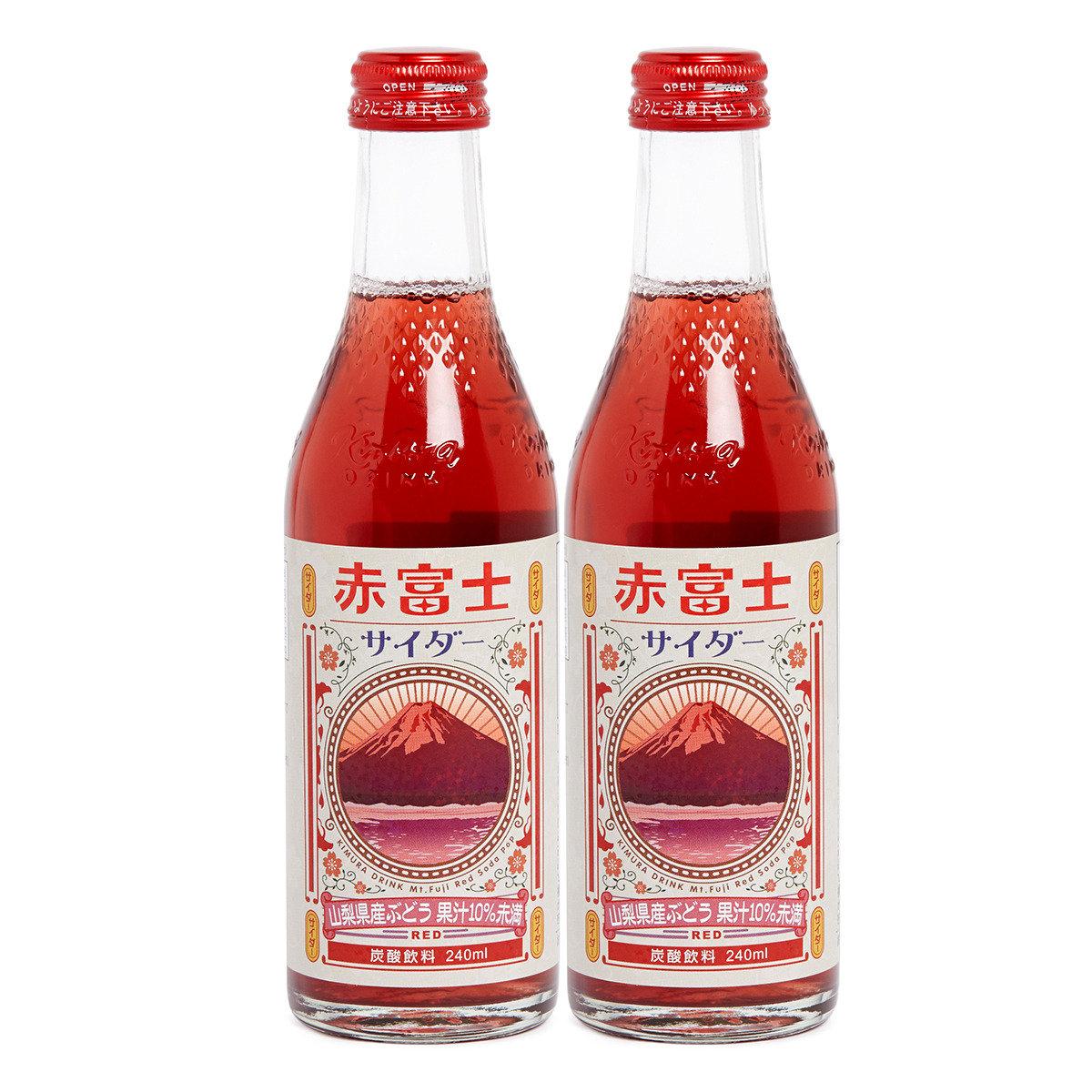 赤富士提子汽水
