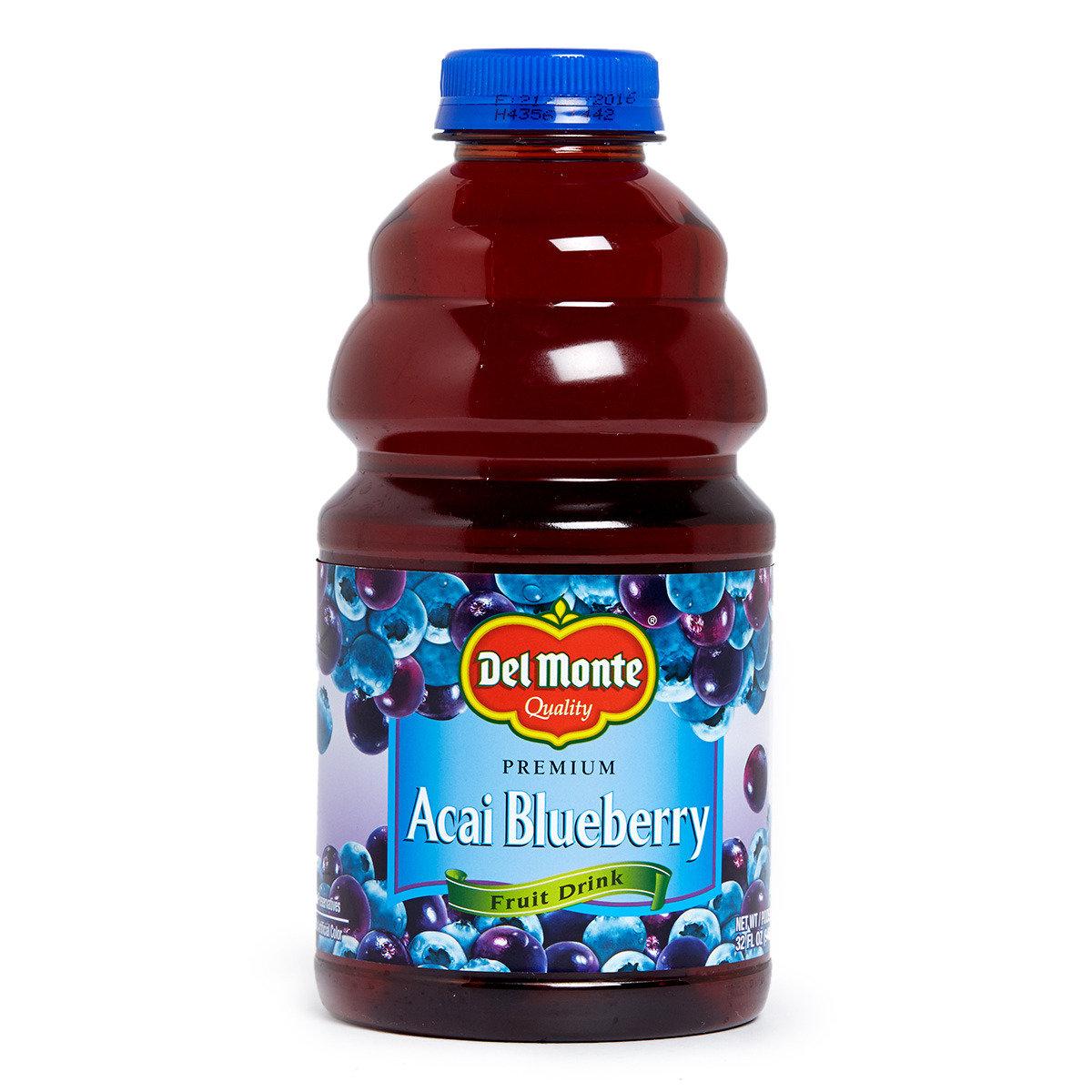 巴西莓藍莓汁