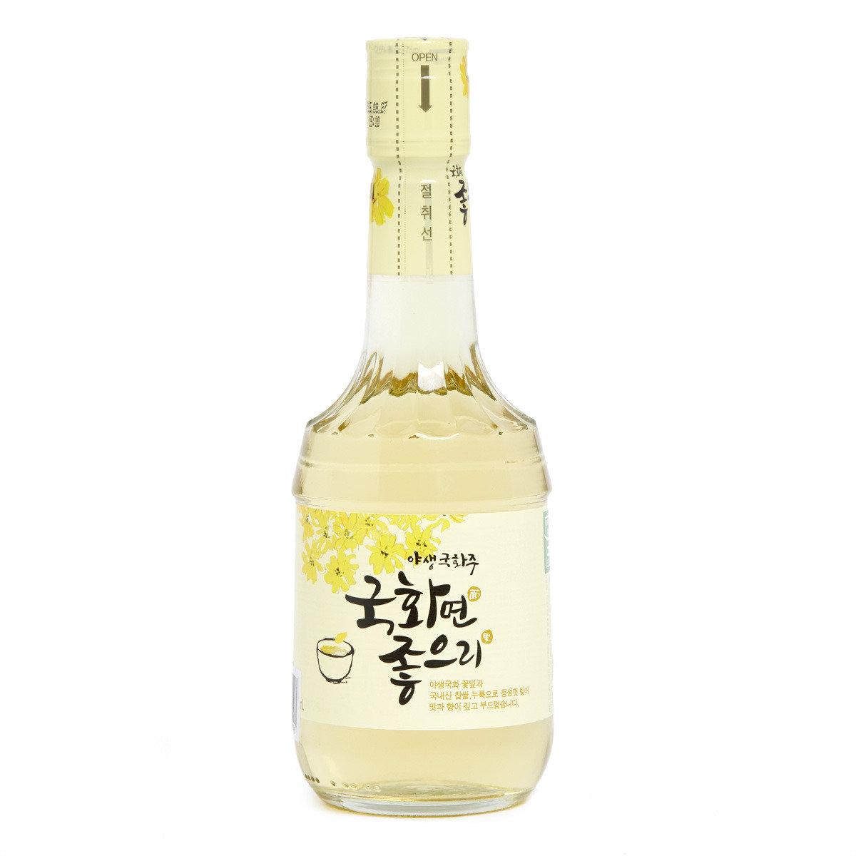 秋菊花糯米酒