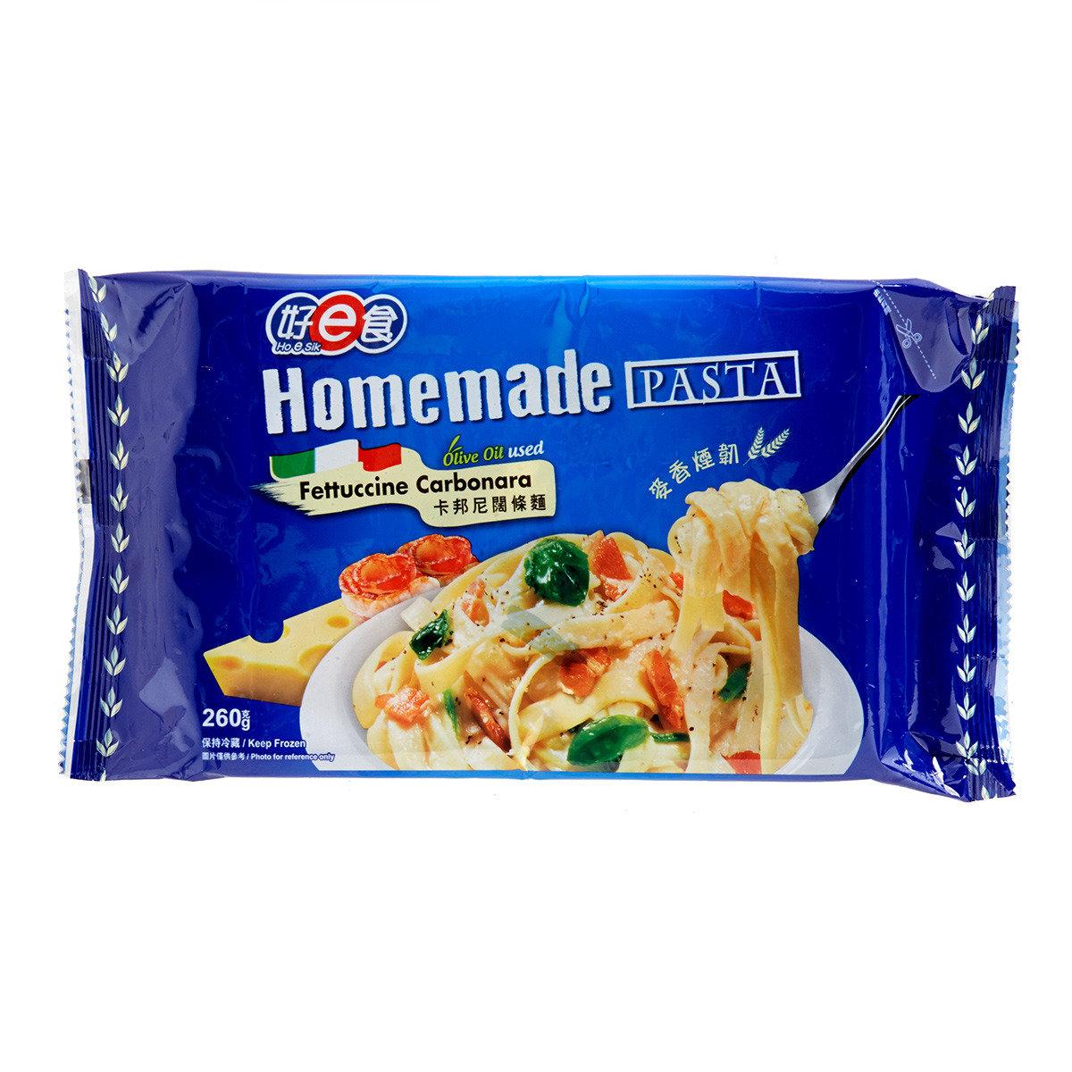 好e食 Homemade Pasta - 卡邦尼闊條麵 (急凍)