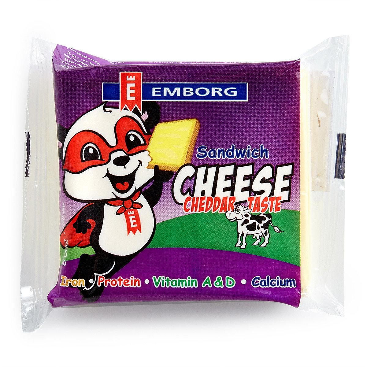 丹麥紫堡牌車打片裝芝士 (10片) (冷凍)