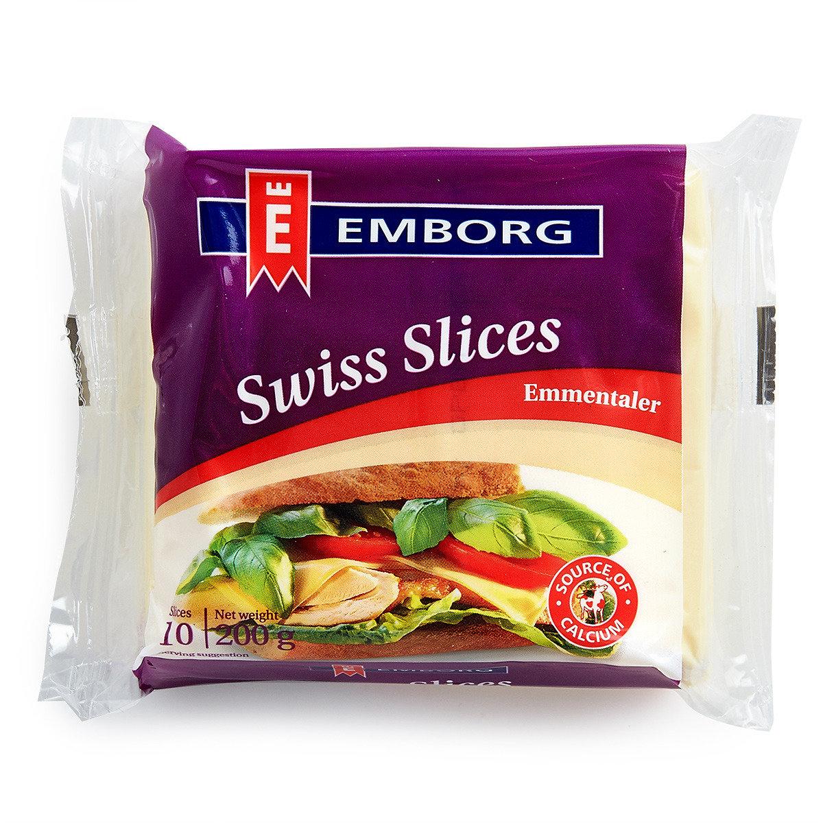 丹麥紫堡牌艾民頓片裝芝士 (10片) (冷凍)