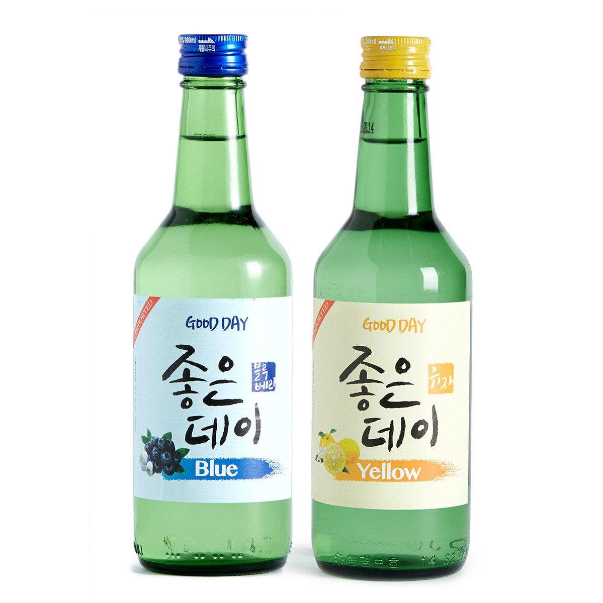 果汁酒套裝(柚子+藍梅)