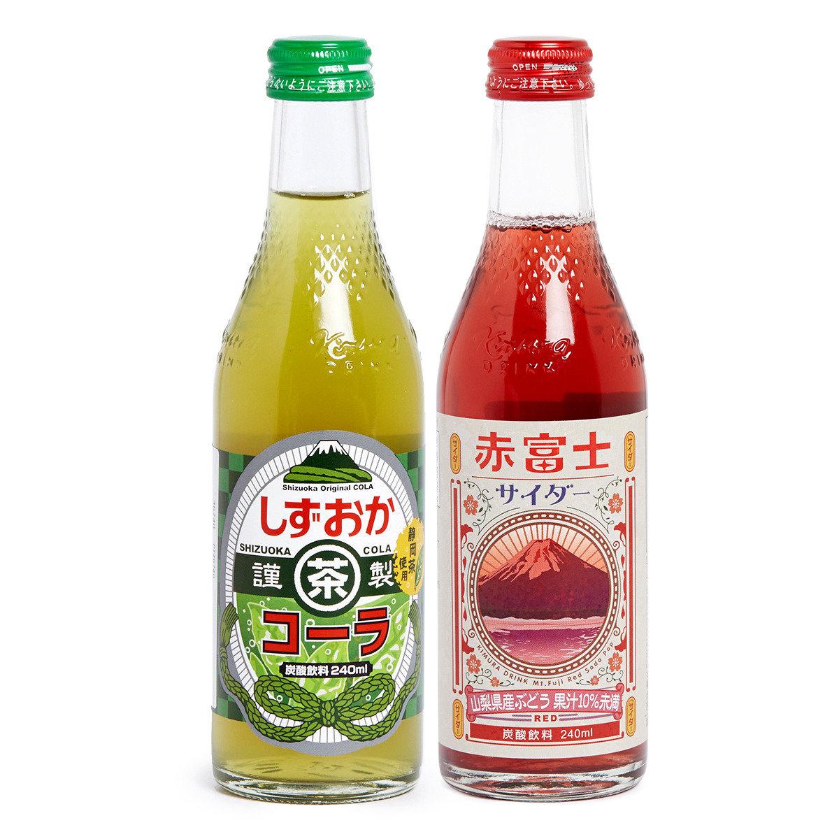 日本人氣-木村飲料套裝 (抹茶可樂+提子汽水)