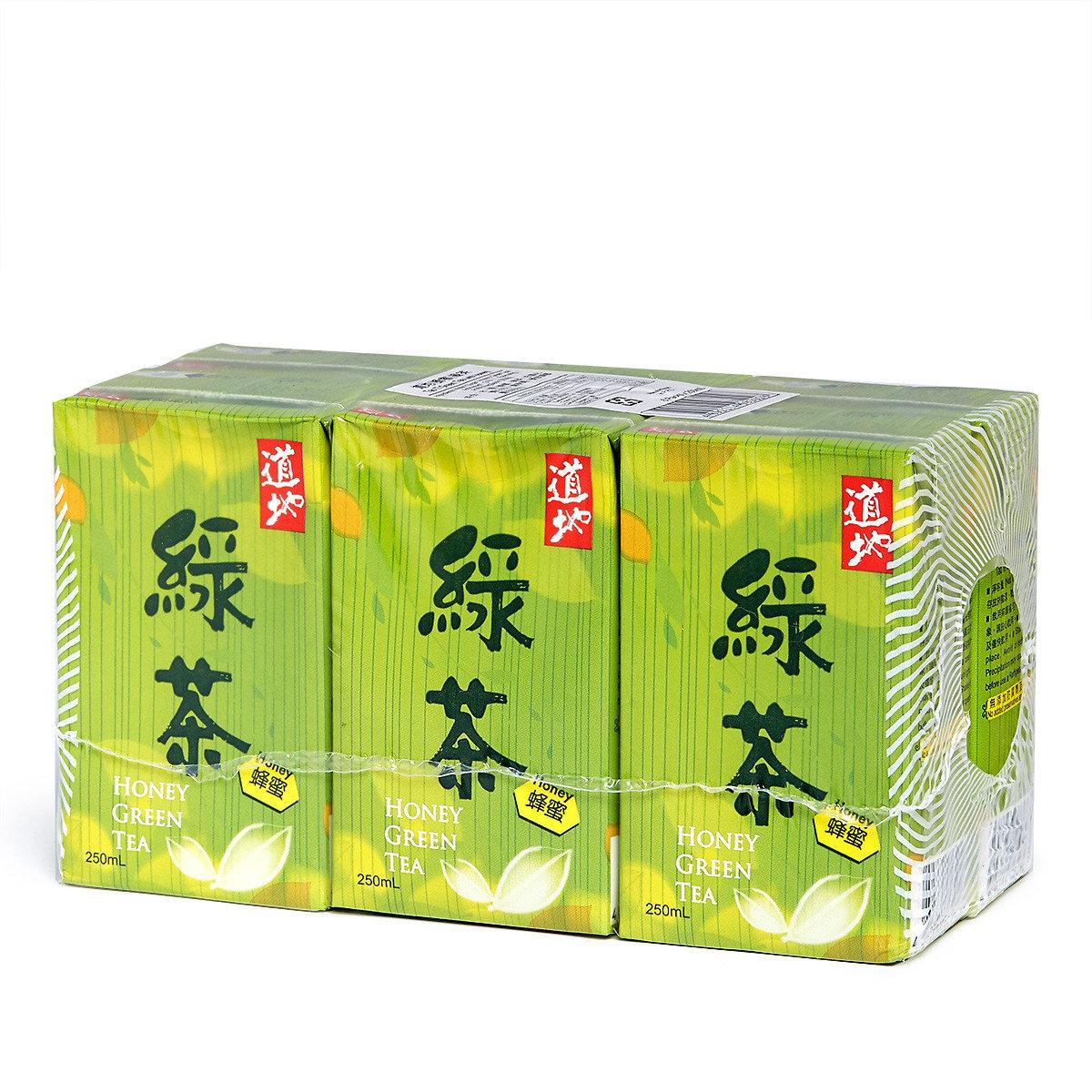 蜂蜜綠茶 紙包裝