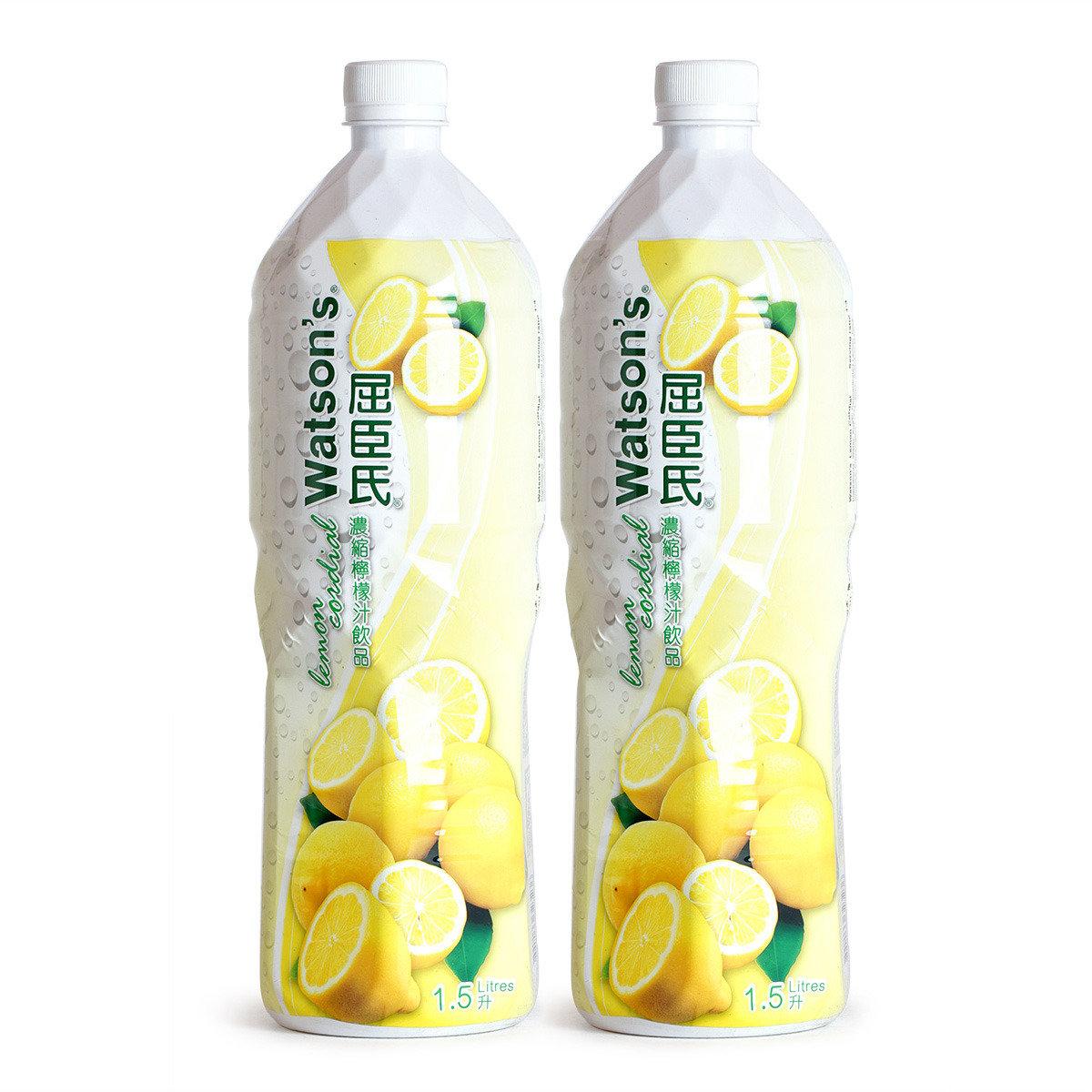 濃縮檸檬果汁飲品