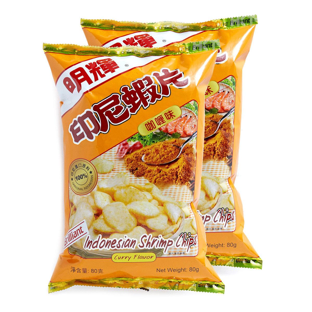 印尼蝦片 (咖喱味)