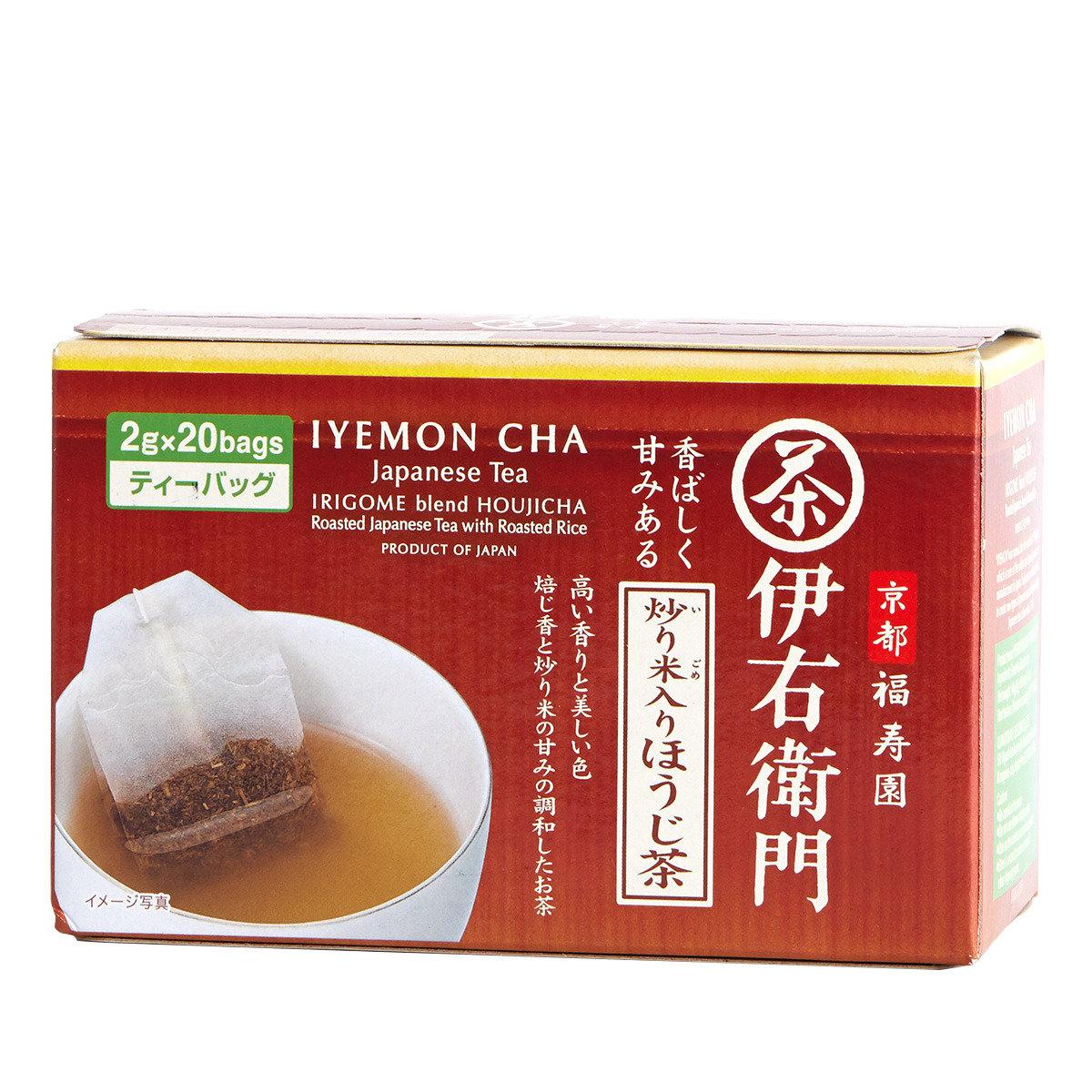 伊右衛門炒米焙茶茶包