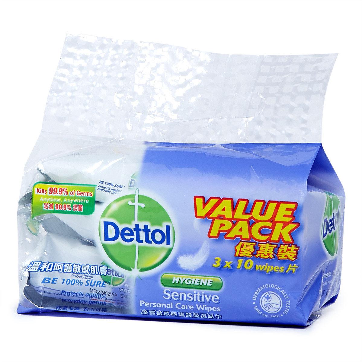 敏感呵護殺菌濕紙巾 優惠裝
