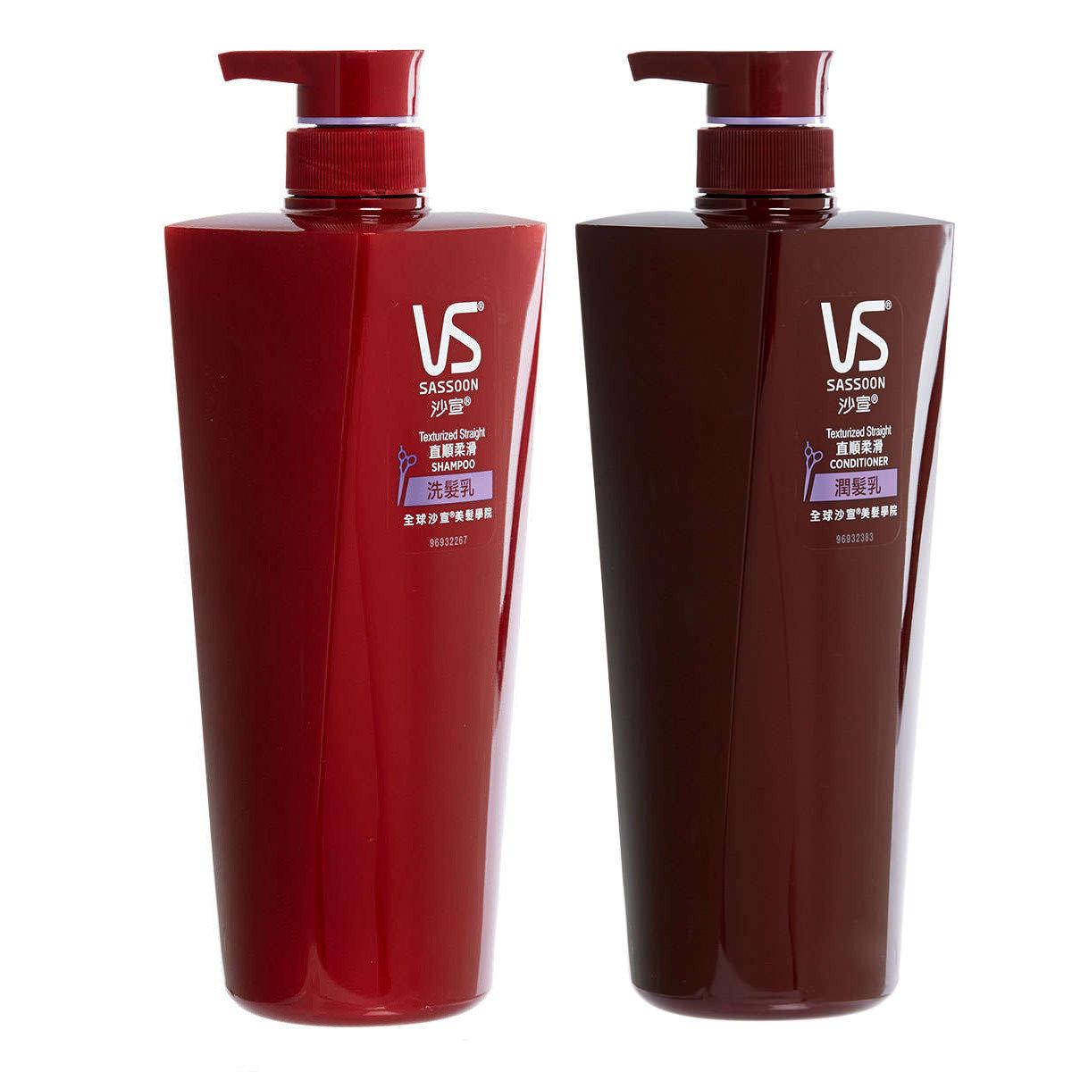 [優惠套裝] 沙宣直順柔滑洗髮護髮套裝 750ML