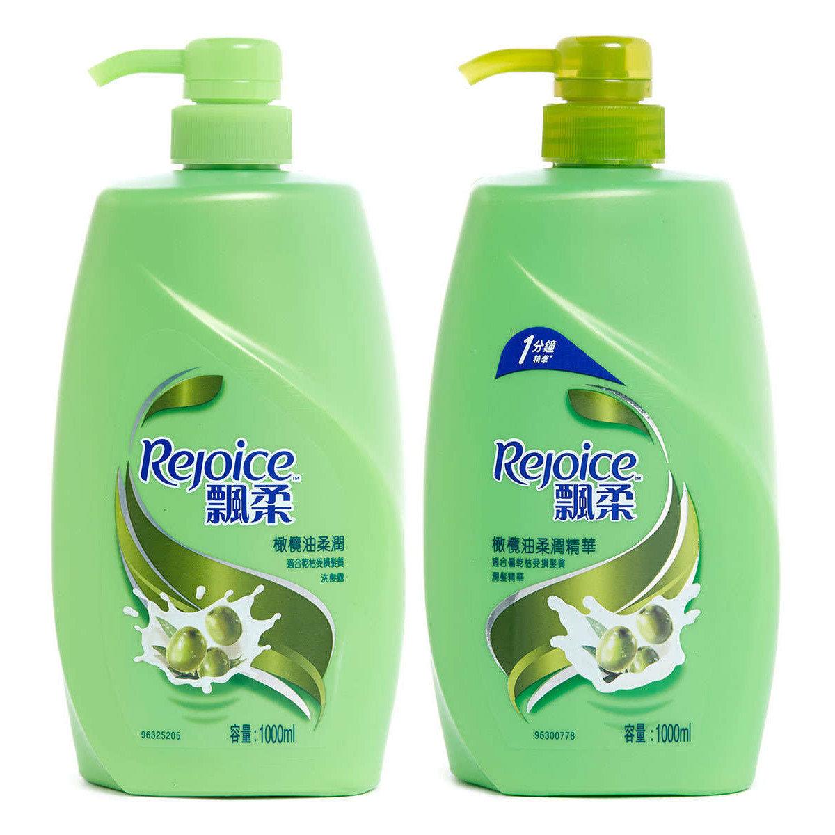 [優惠套裝] 飄柔橄欖油柔潤洗髮護髮套裝