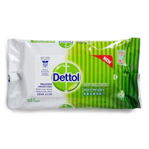 [贈品] 殺菌濕紙巾10片裝