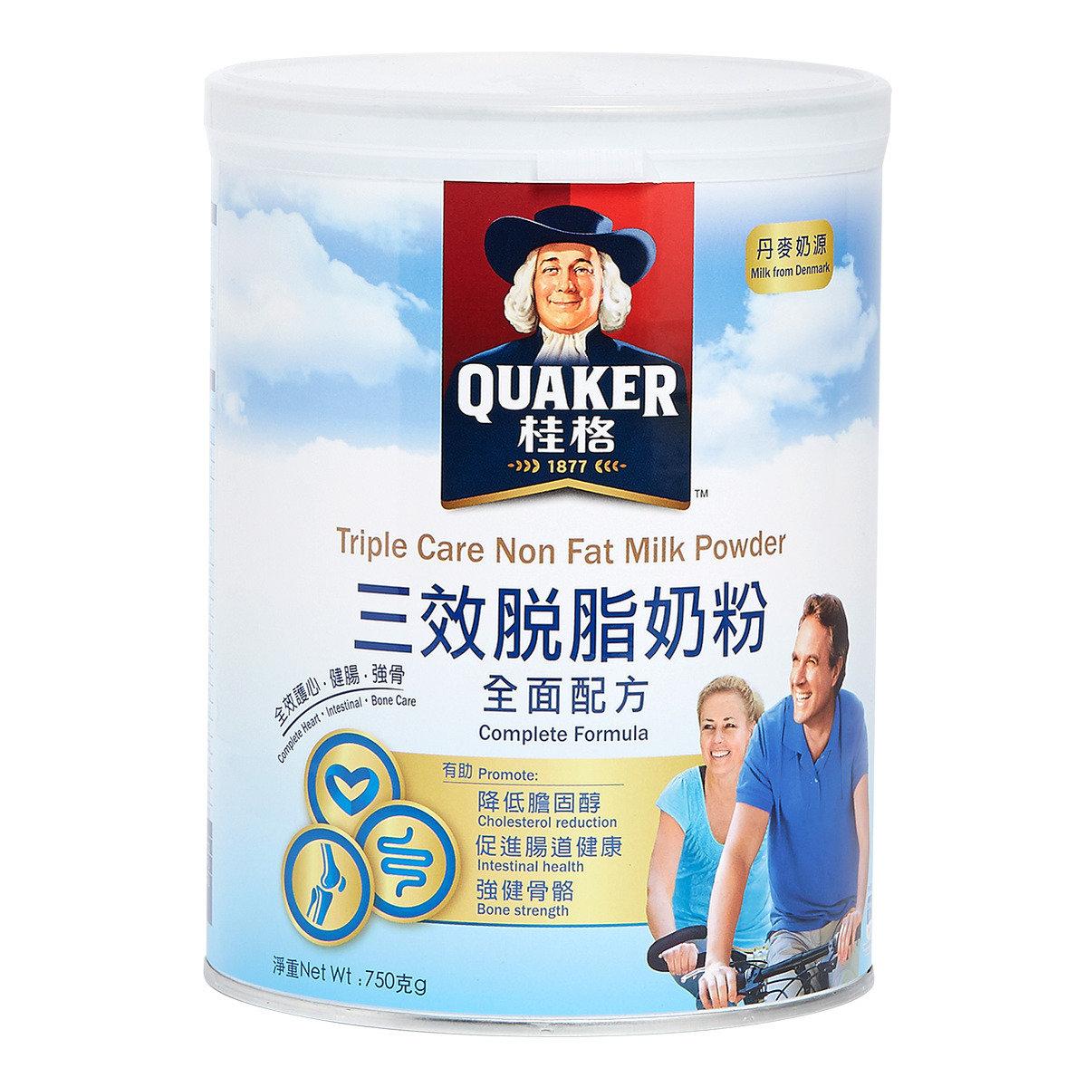 桂格三效脫脂奶粉 - 全面配方