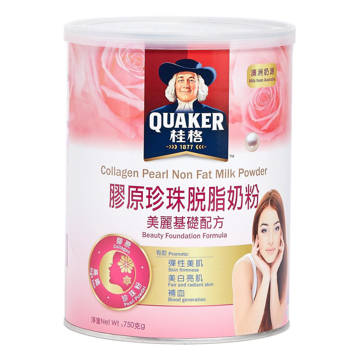 桂格膠原珍珠脫脂奶粉 - 美麗基礎配方