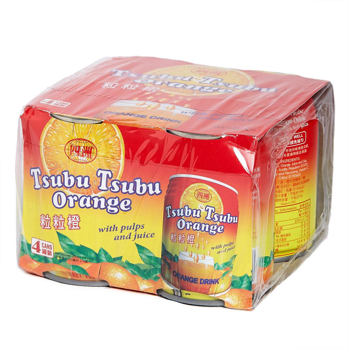 粒粒橙汁 (罐裝)