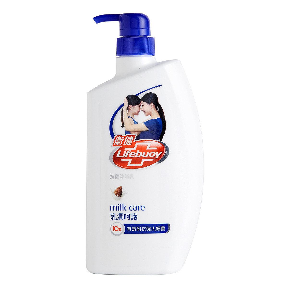 乳潤呵護抗菌沐浴乳
