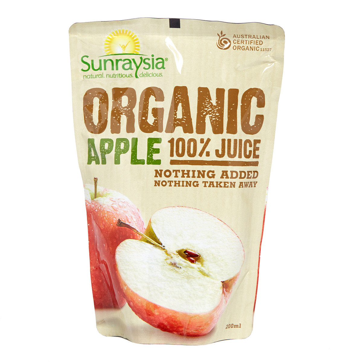 有機蘋果汁