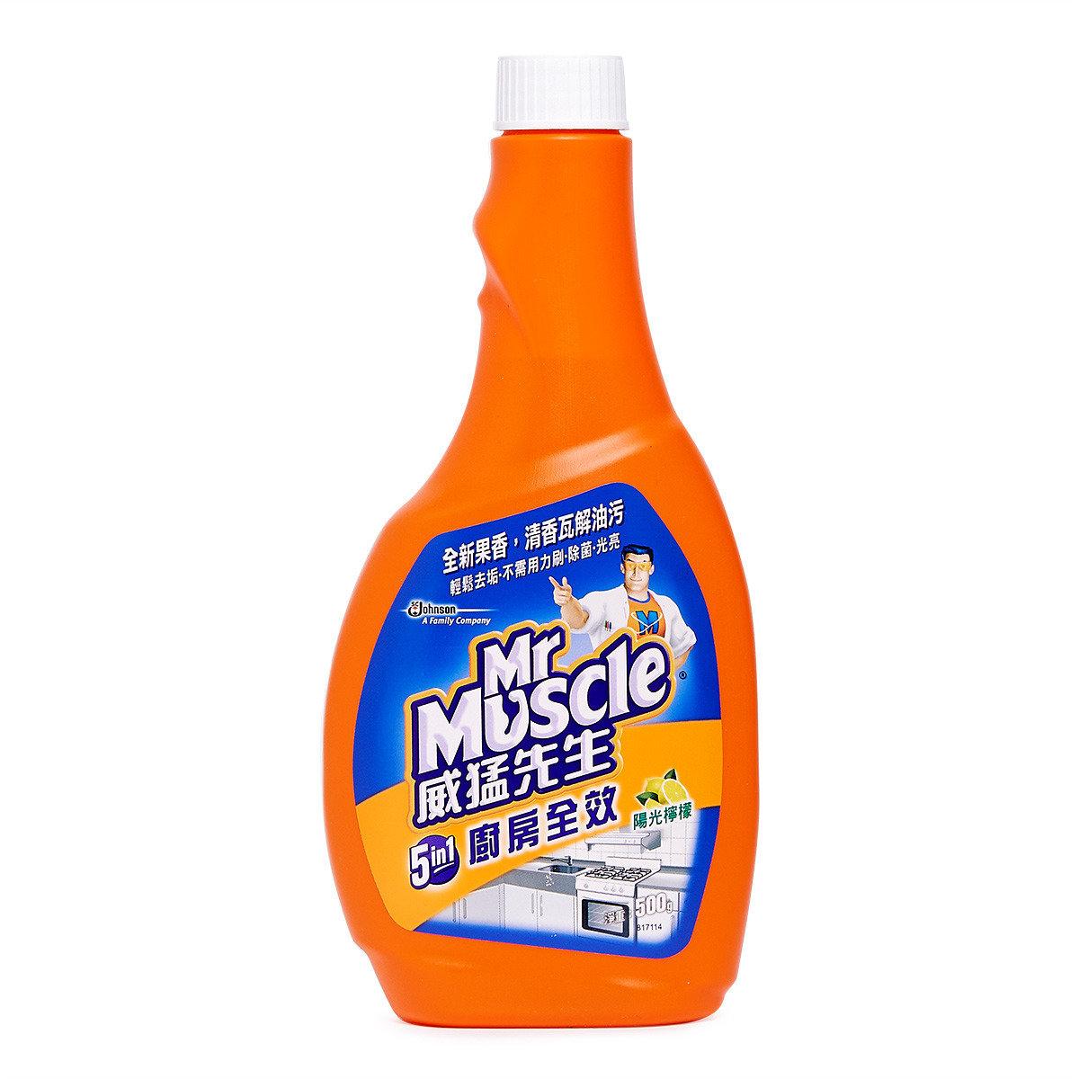 廚房超強效清潔劑 - 檸檬味 (補充裝)